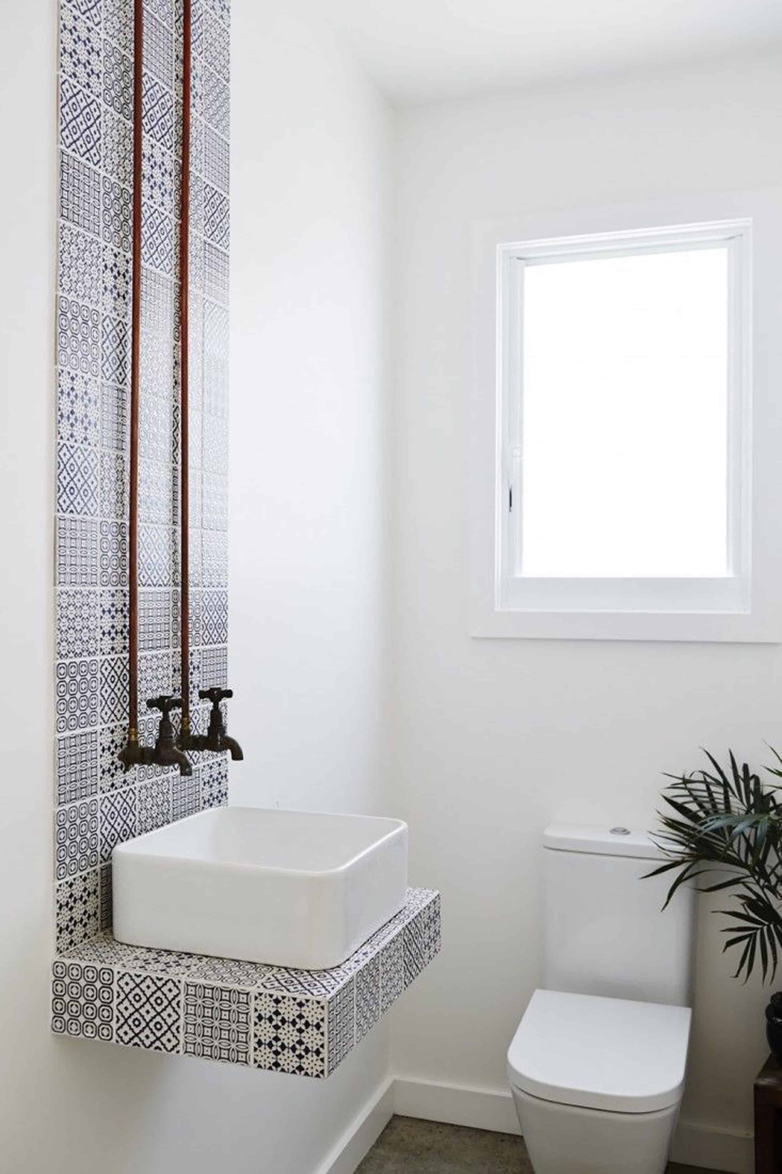 Emily Henderson Design Trends 2018 Bathroom Floating Vanity 021