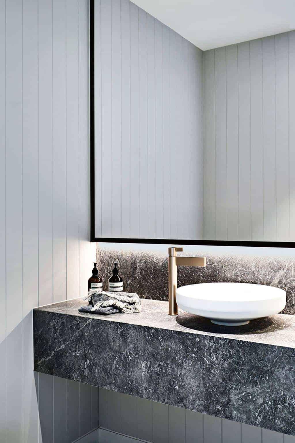 Emily Henderson Design Trends 2018 Bathroom Floating Vanity 04