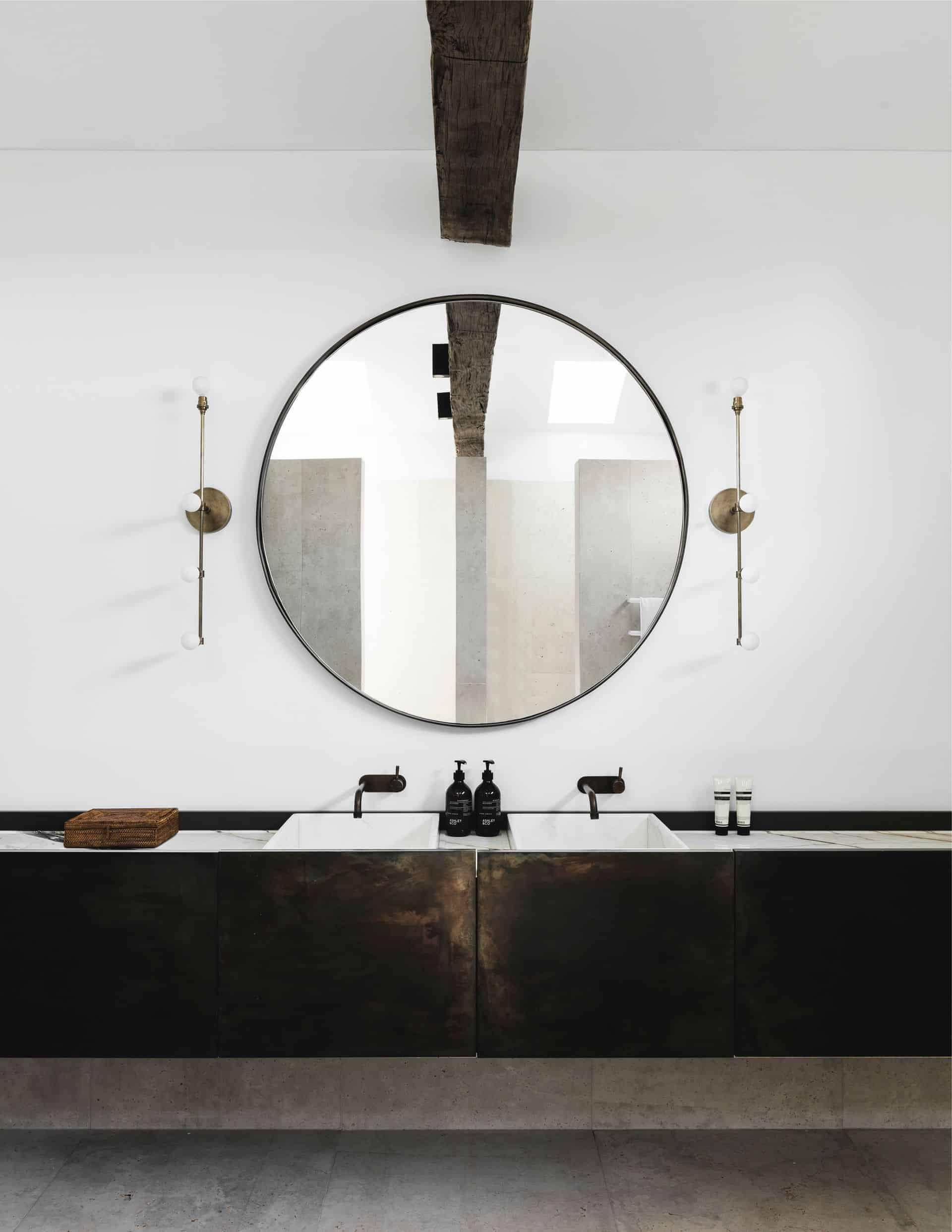 Emily Henderson Design Trends 2018 Bathroom Floating Vanity 06