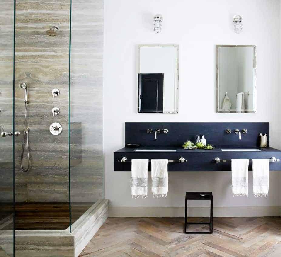 Emily Henderson Design Trends 2018 Bathroom Floating Vanity 08