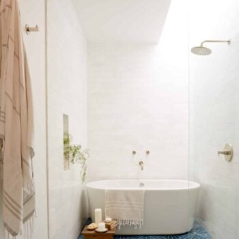 Emily Henderson Design Trends 2018 Bathroom Freestanding Bath 011