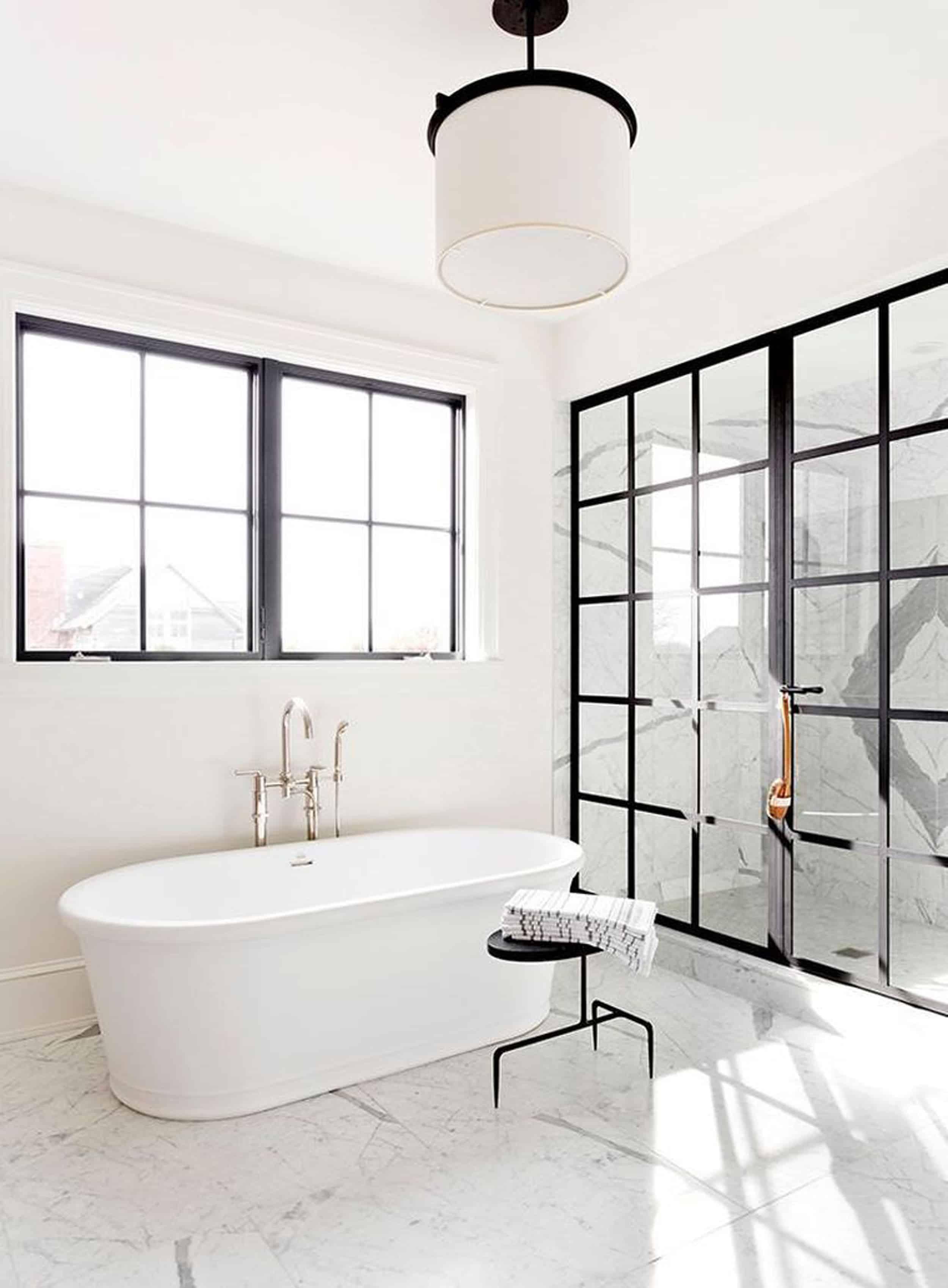 Emily Henderson Design Trends 2018 Bathroom Freestanding Bath 061