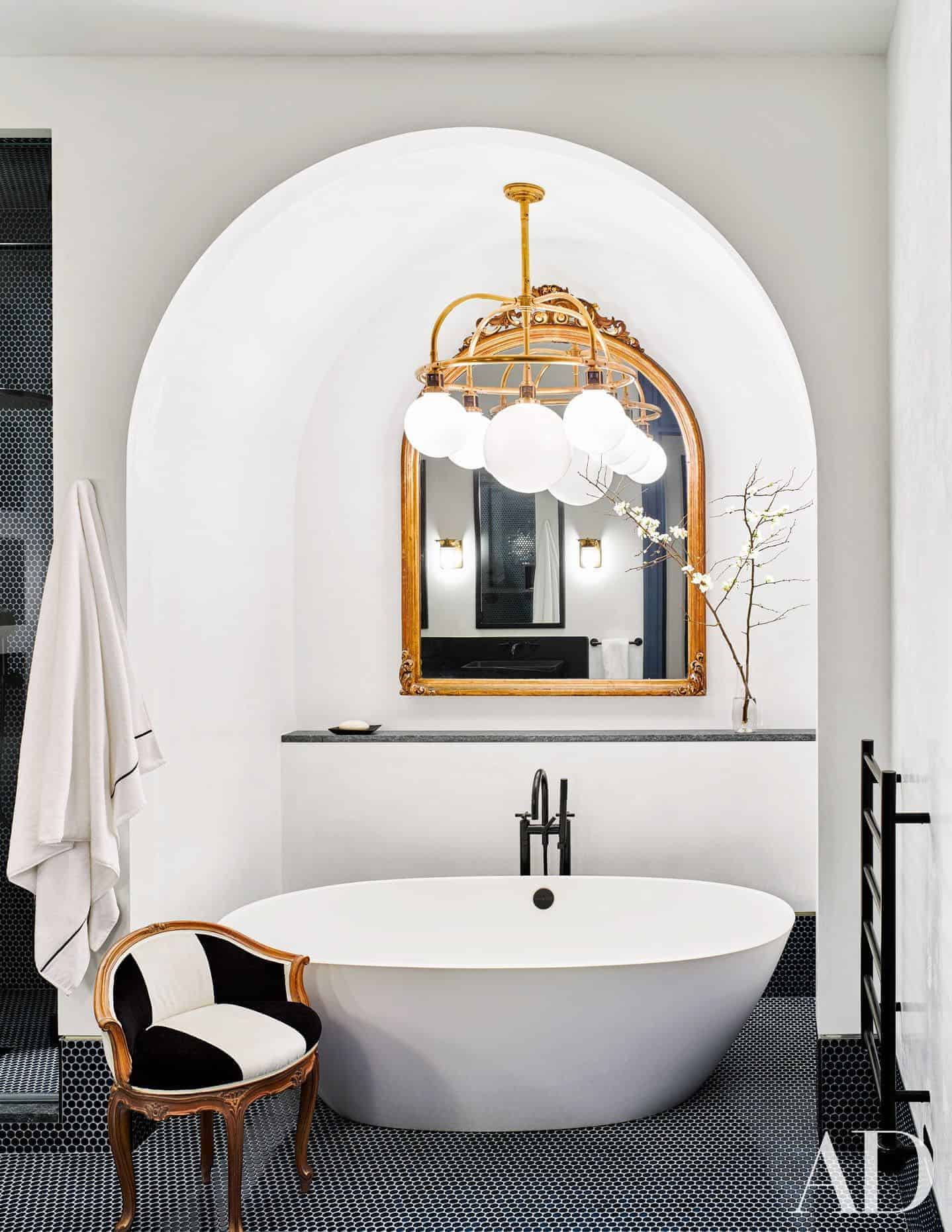 Emily Henderson Design Trends 2018 Bathroom Freestanding Bath 07