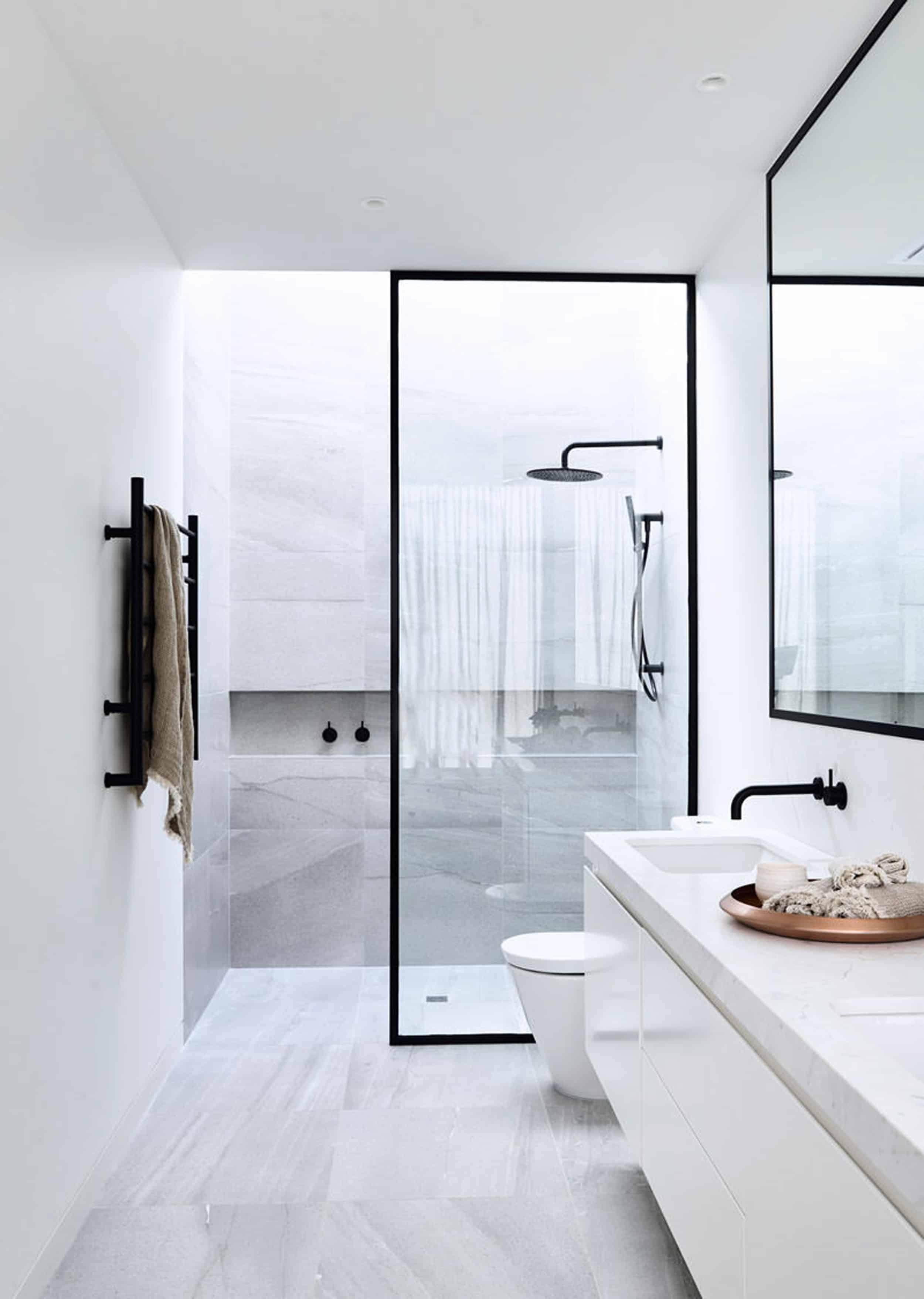 Emily Henderson Design Trends 2018 Bathroom Integrated Shower 011