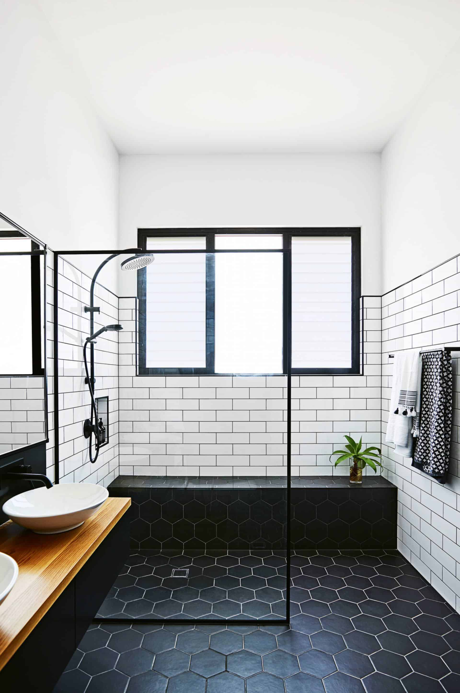 Emily Henderson Design Trends 2018 Bathroom Integrated Shower 02