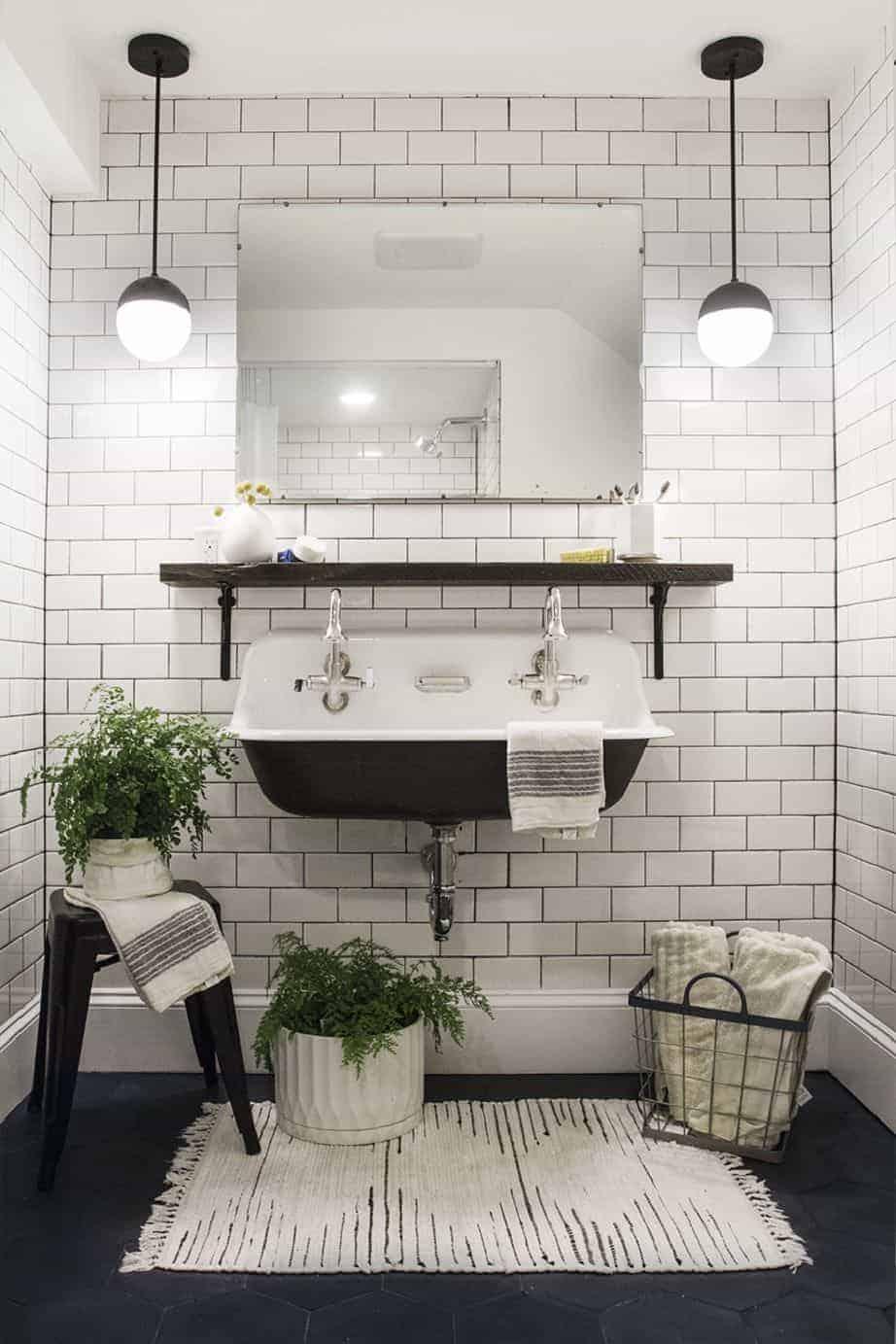 Emily Henderson Design Trends 2018 Bathroom Ledge Storage 02