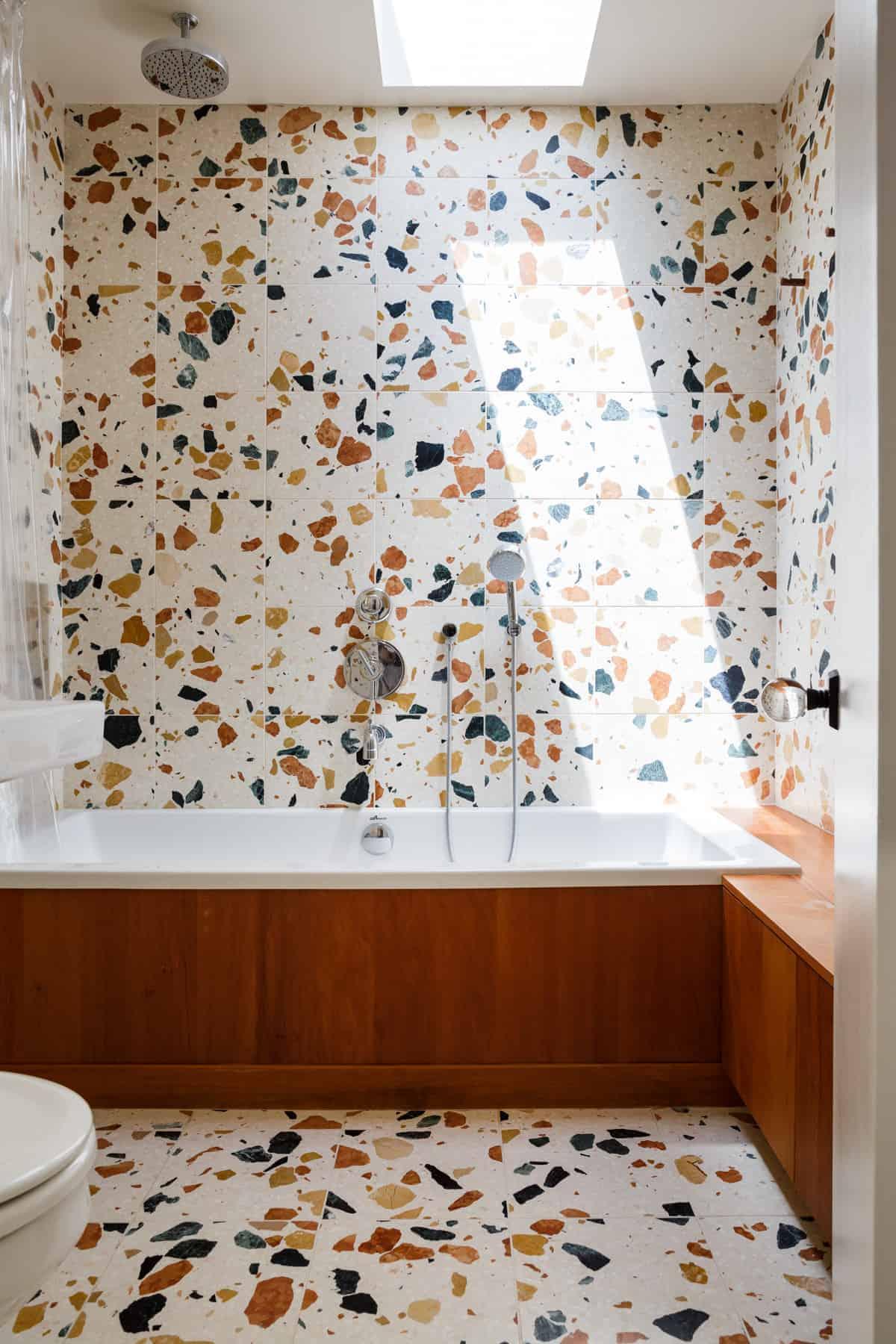 Emily Henderson Design Trends 2018 Bathroom Terrazzo 01
