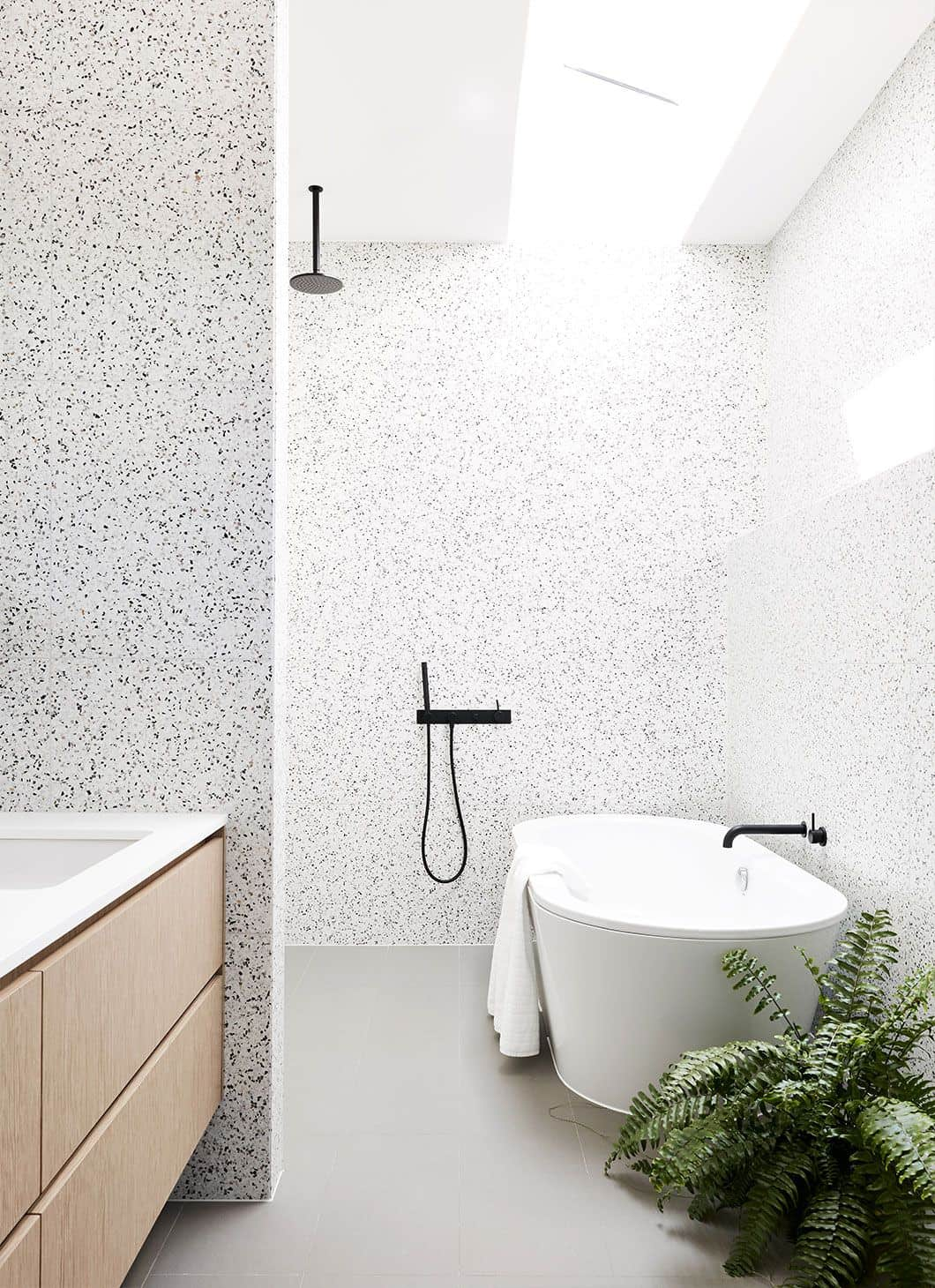 Emily Henderson Design Trends 2018 Bathroom Terrazzo 03