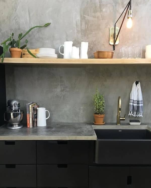 Emily Henderson Design Trends 2018 Kitchen Concrete 04