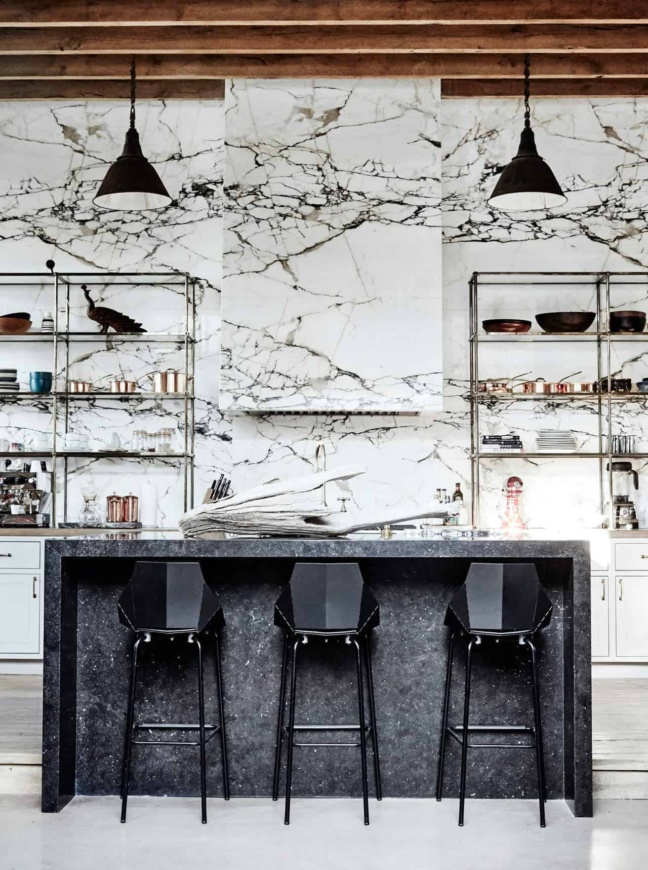 Emily Henderson Design Trends 2018 Kitchen Marble 01