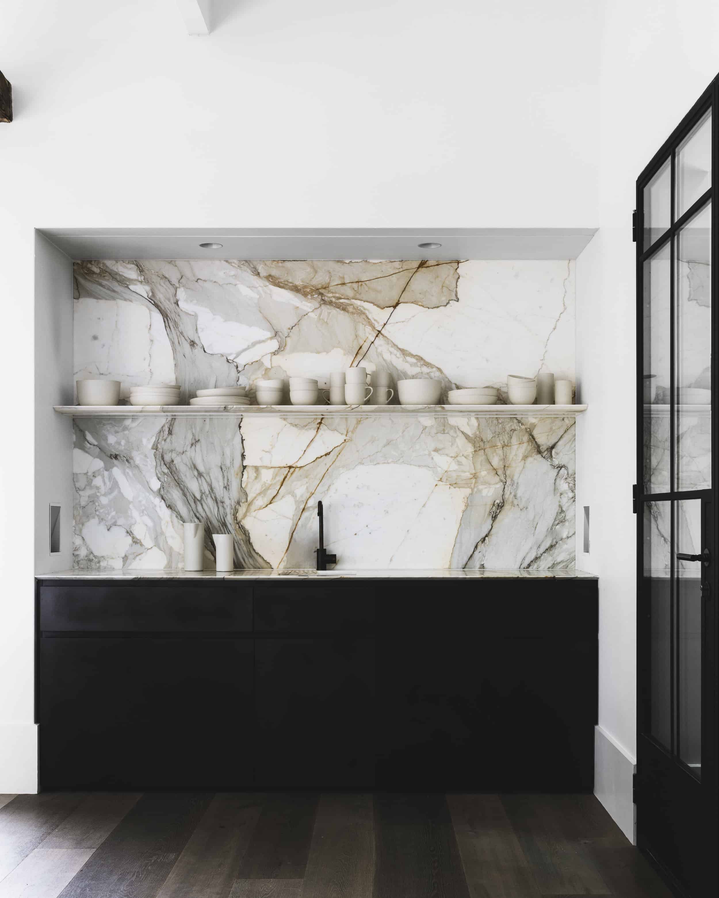 Emily Henderson Design Trends 2018 Kitchen Marble 03