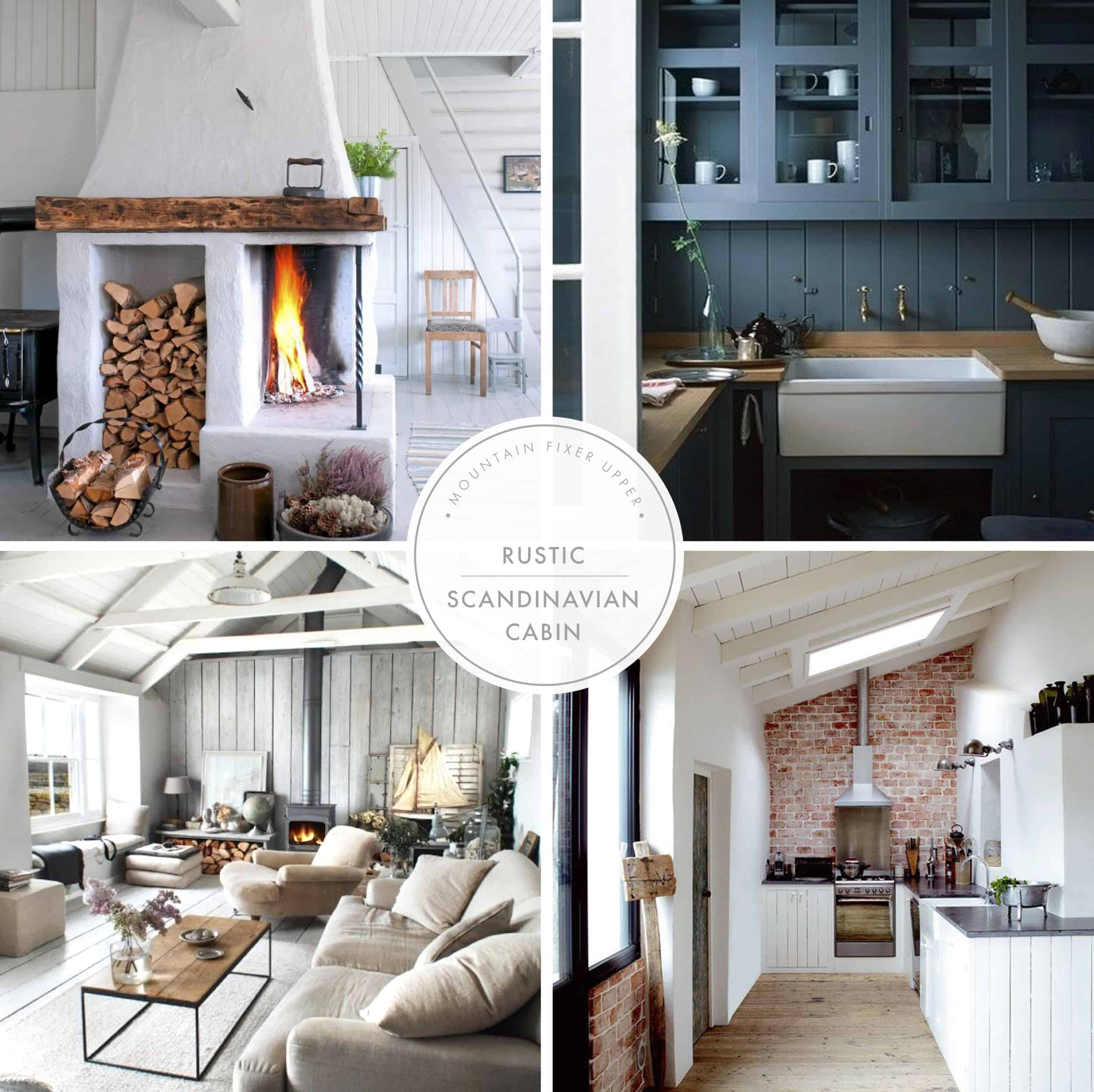 Emily Henderson Home Lake House Remodel I Design You Decide Poll Style Collage Rustic New Graphic 01