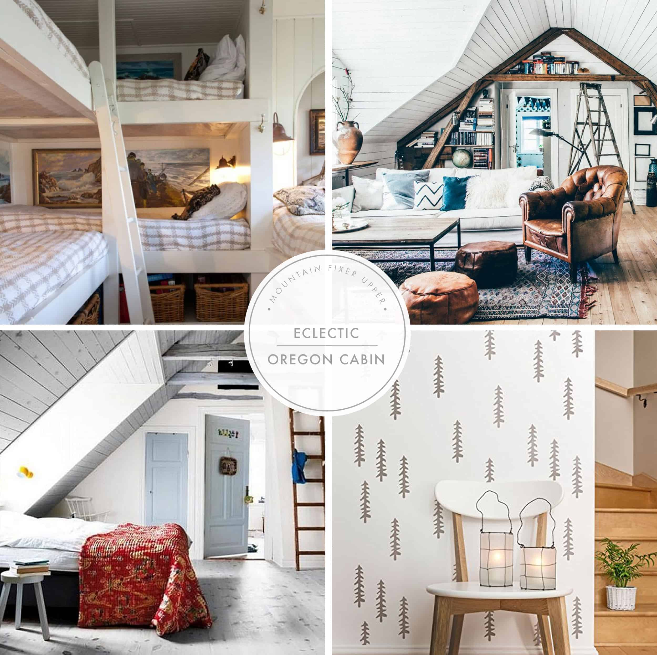 Emily Henderson Home Mountain Fixer Upper I Design You Decide 5 Styles Electic Oregon Cabin Header New