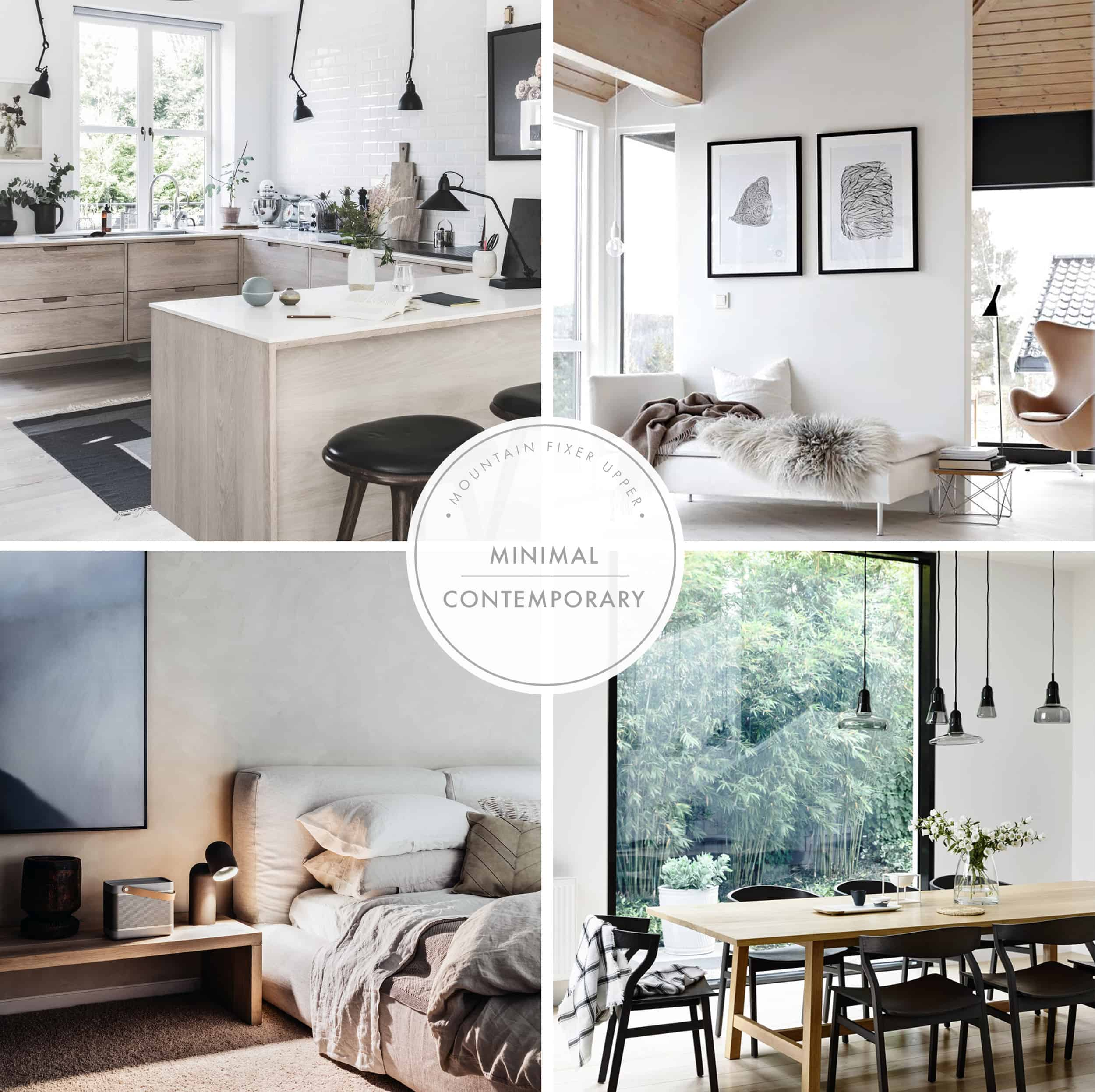 Emily Henderson Home Mountain Fixer Upper I Design You Decide 5 Styles Minimal Contemporary Header New