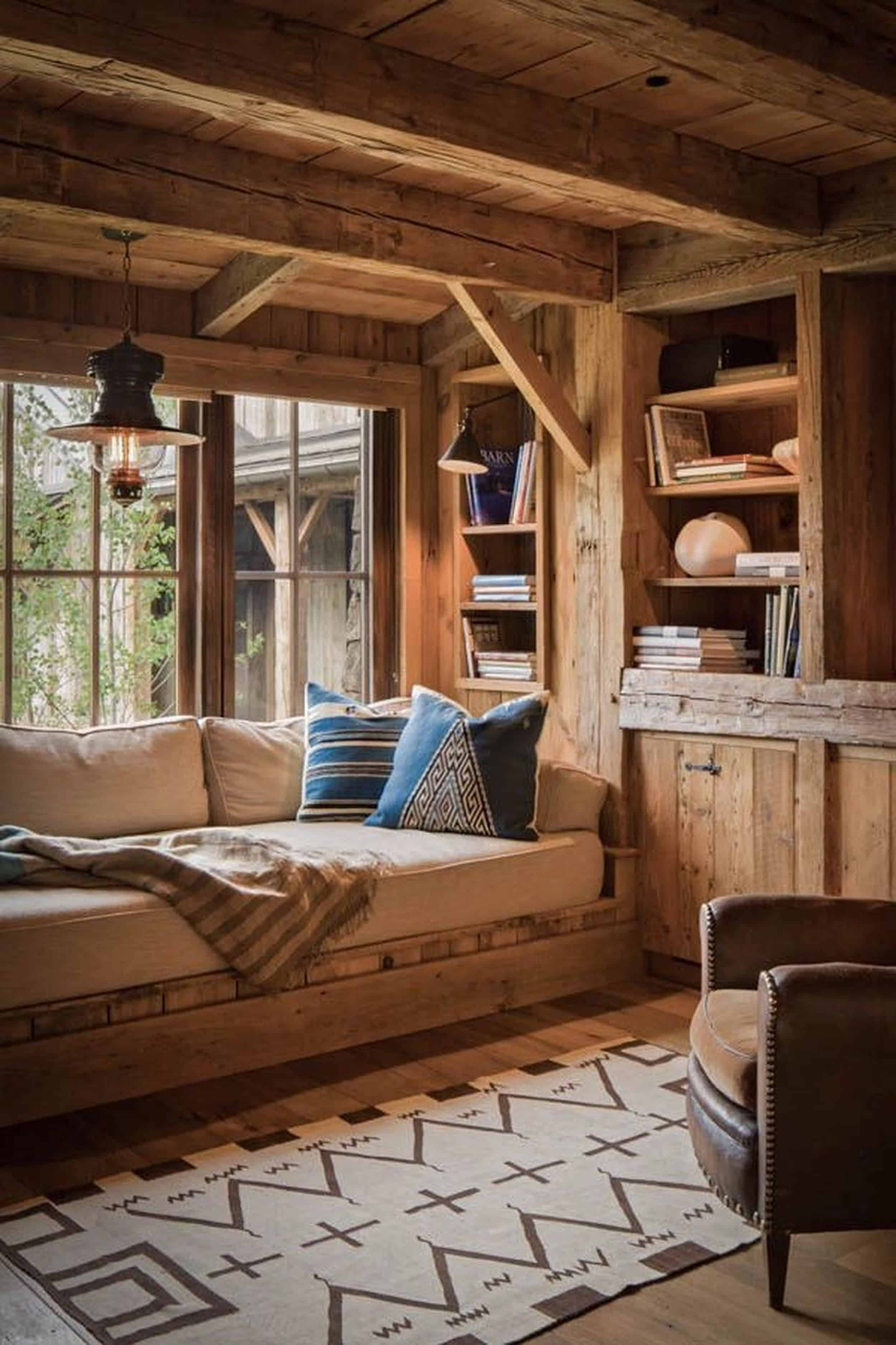 Emily Henderson Mountain Fixer Upper I Design You Decide 5 Styles Rustic Cabin 04