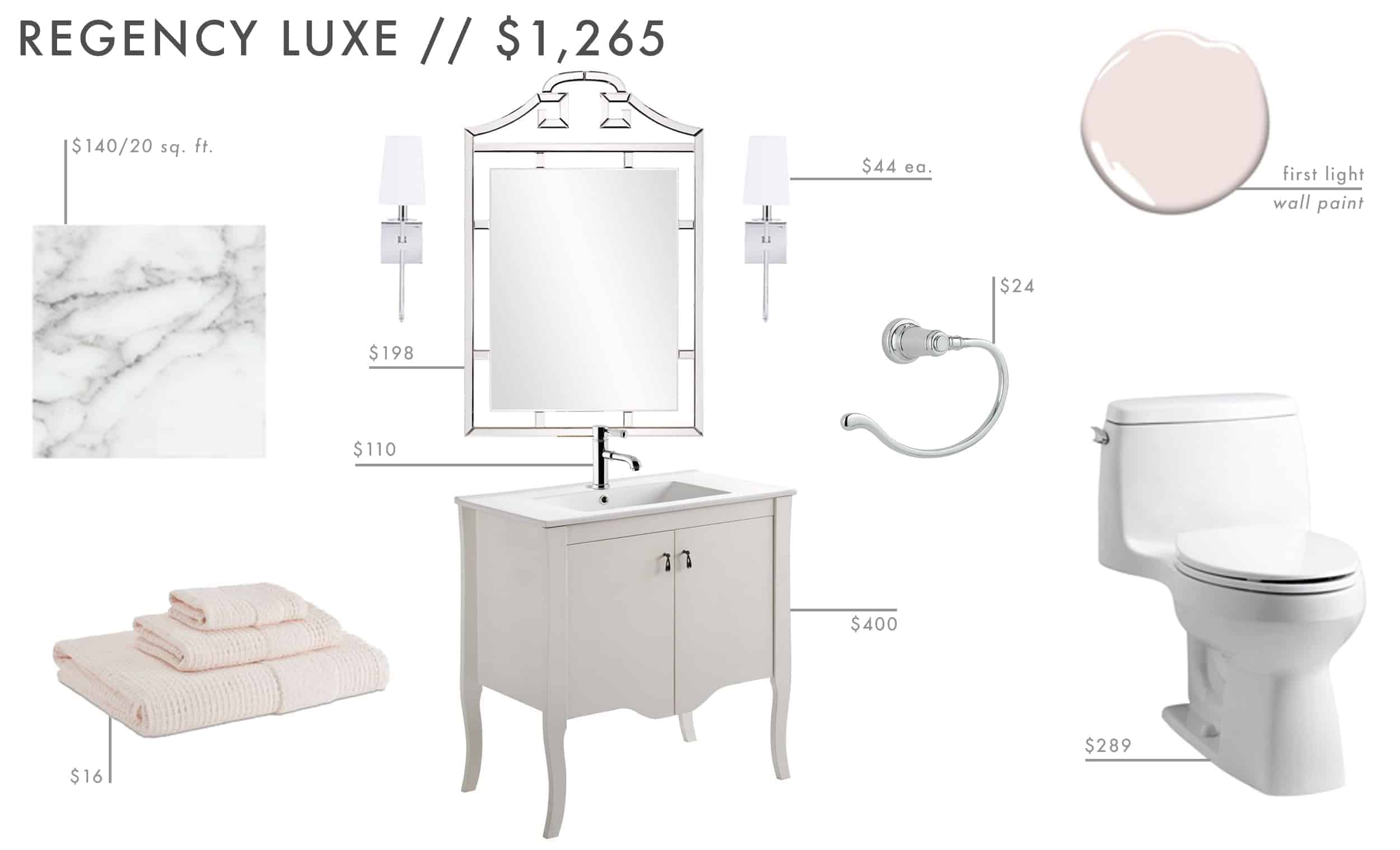 Emily Henderson Roundup Affordable Bathroom Budget Friendly Moodboard 03