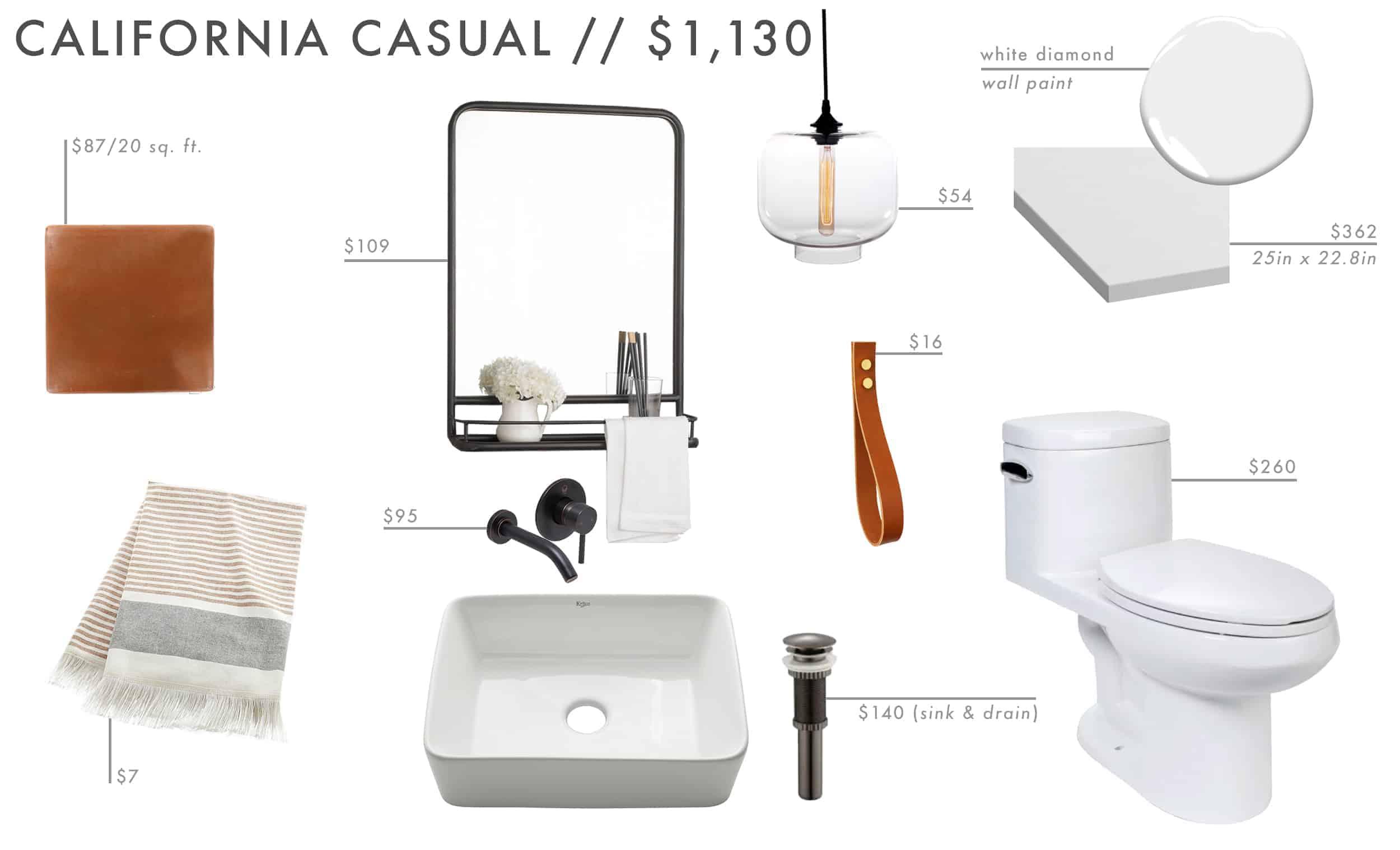 Emily Henderson Roundup Affordable Bathroom Budget Friendly Moodboard 04