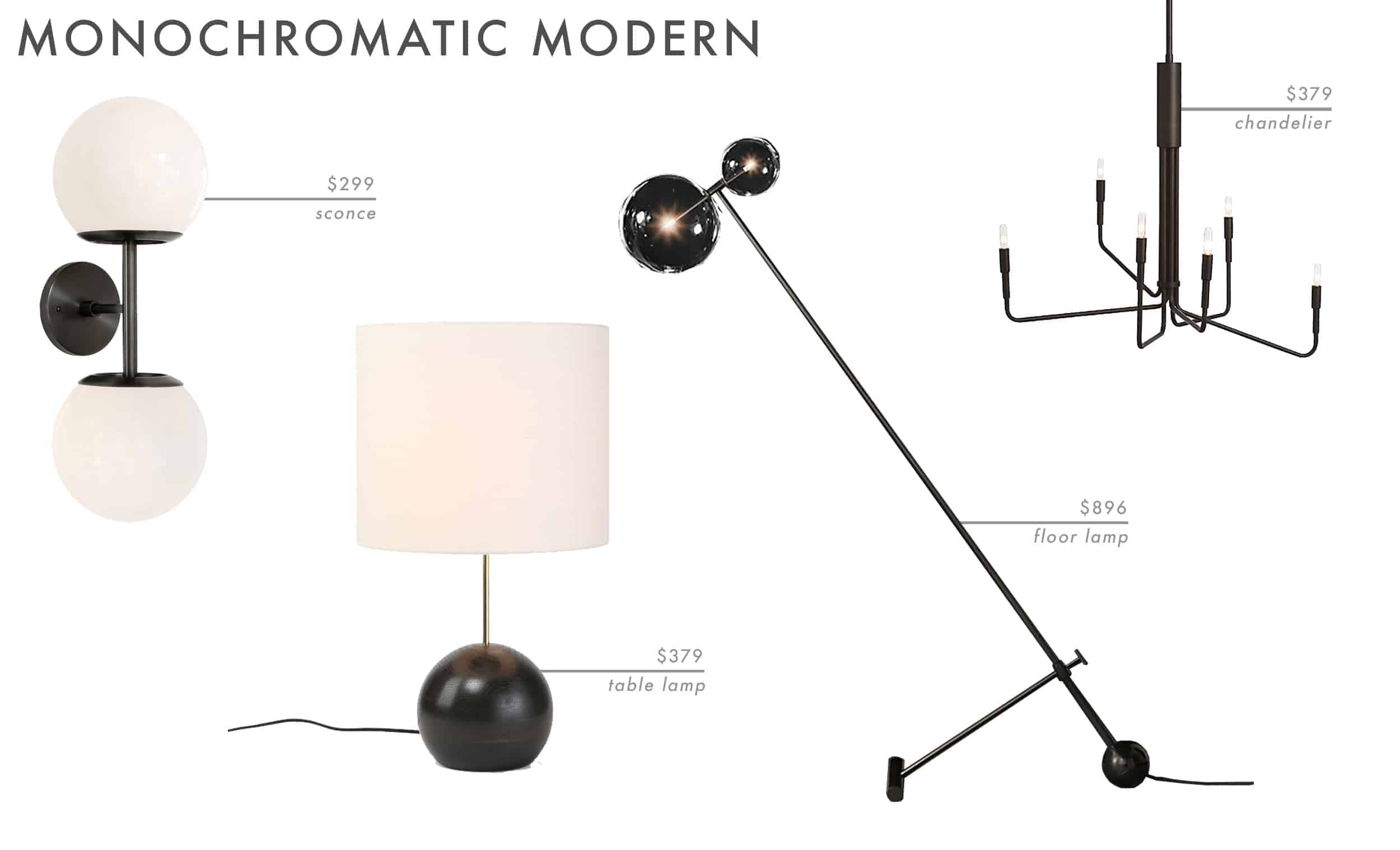 Emily Henderson Roundup Lighting Combos Table Lamp Floor Lamp Sconce 9