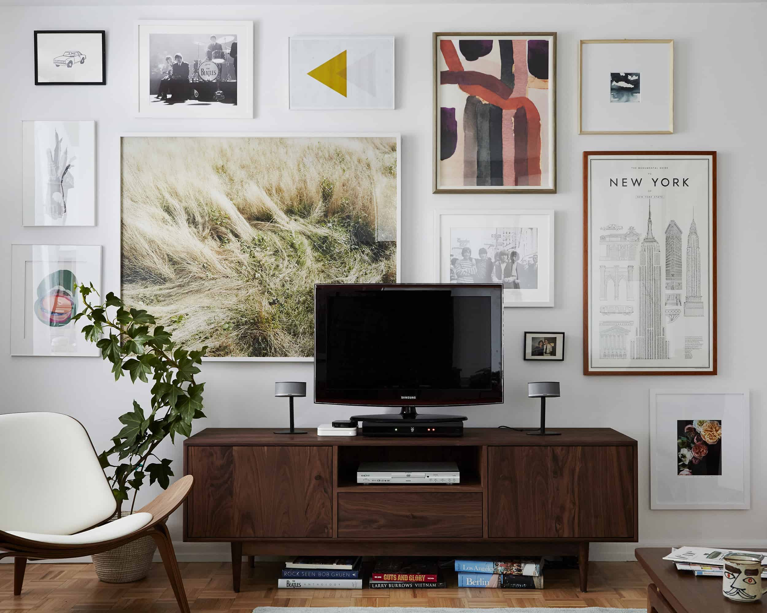 Designing With Your Tv A Media Console Roundup Emily Henderson