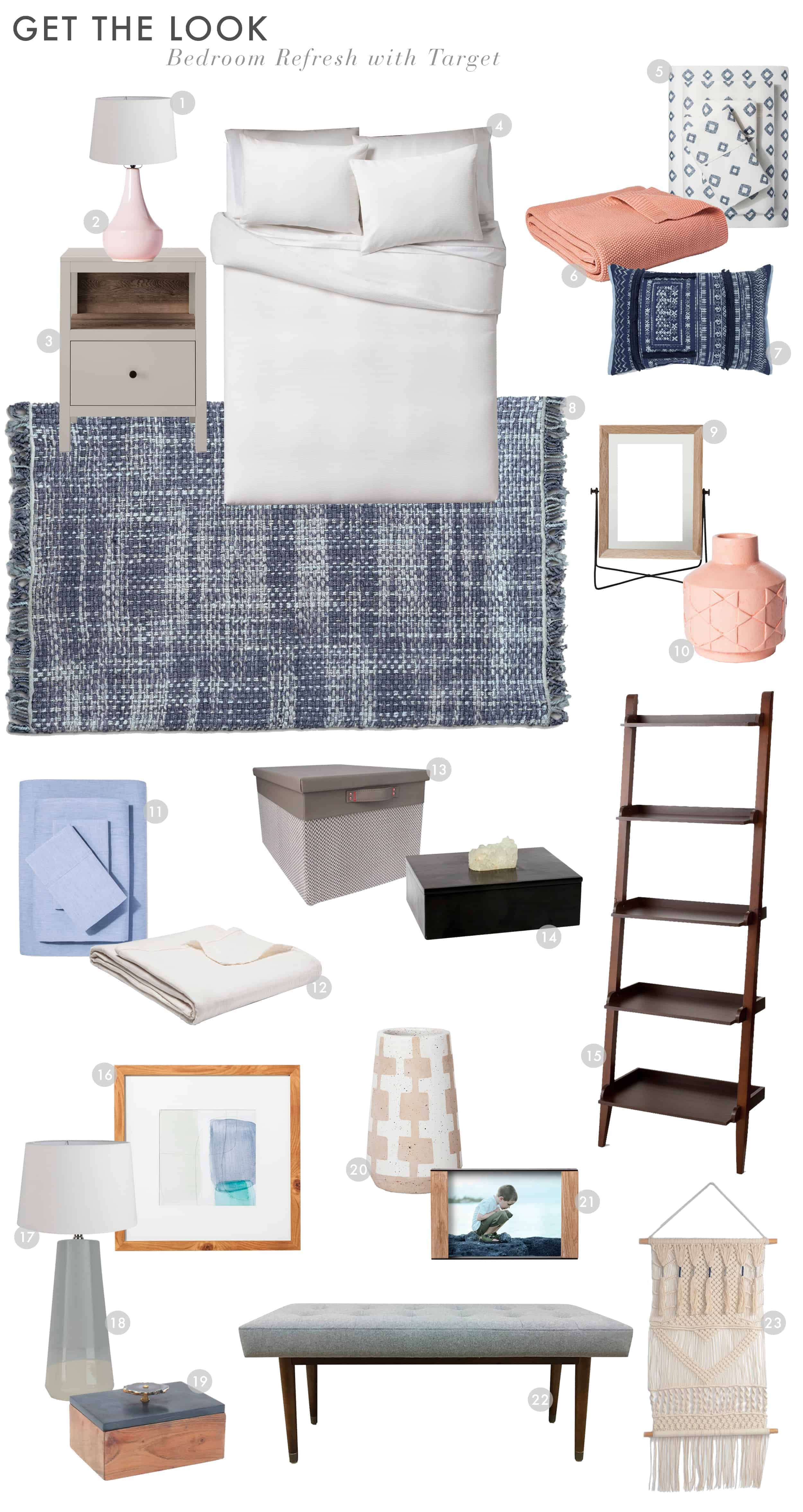 Emily Henderson Target Bedroom And Bath Refresh Project 62 Threshold Master Bedroom Get The Look1