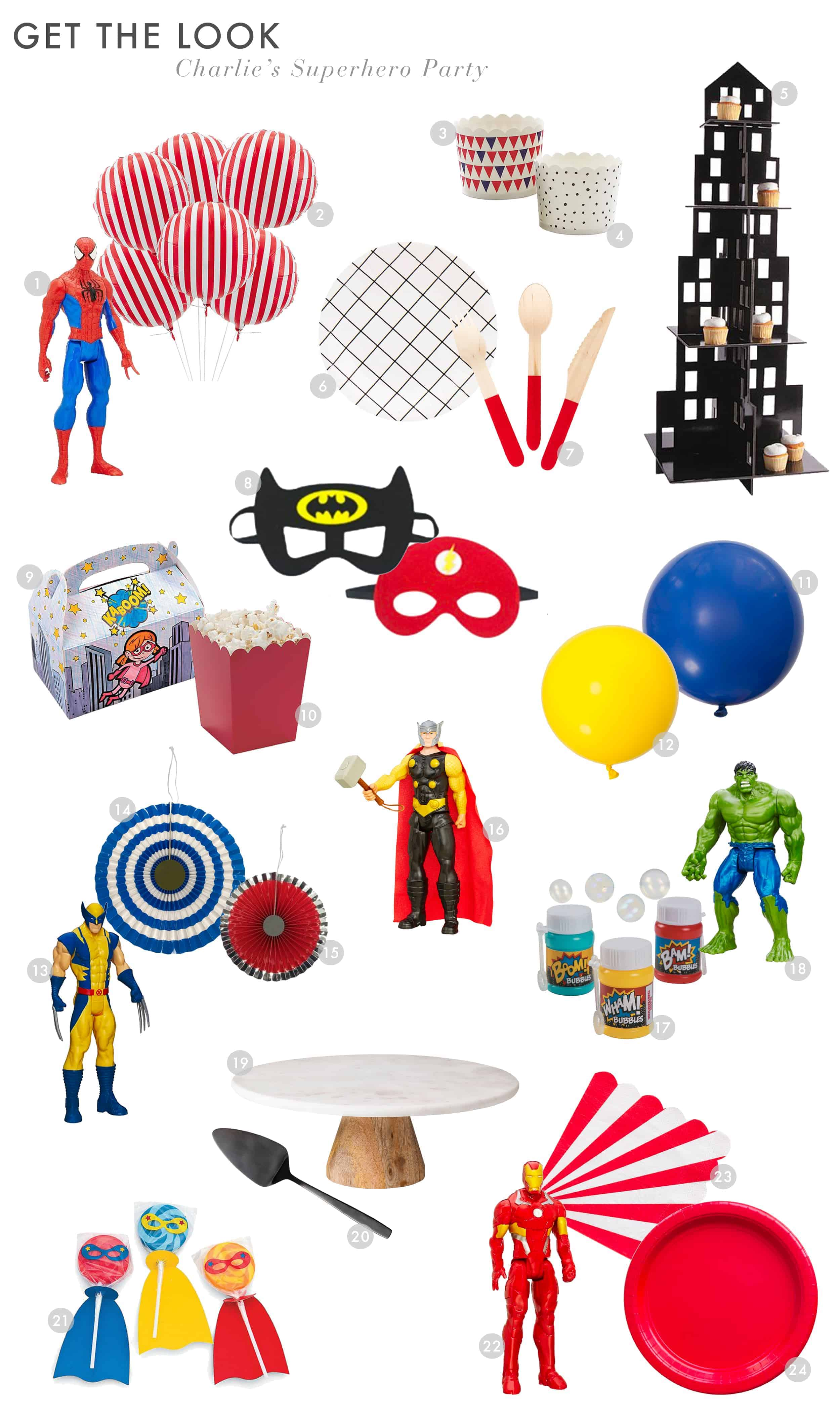 Emily Henderson Waverly Charlie Birthday Party Superhero Get The Look 01