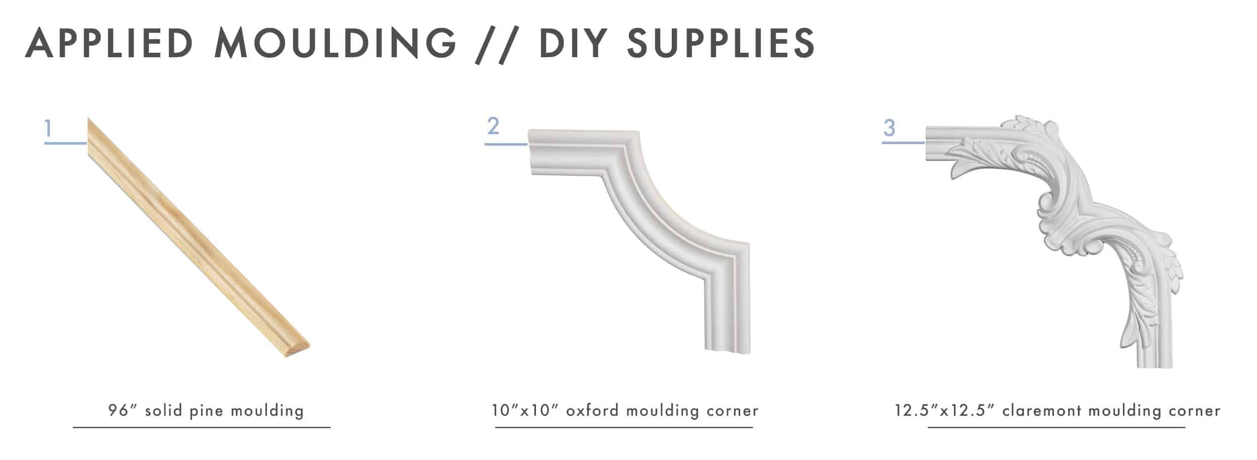 How To Add Character And Charm To Boring Architecture And Houses Ceiling Applied Moulding Diy Supplies 01