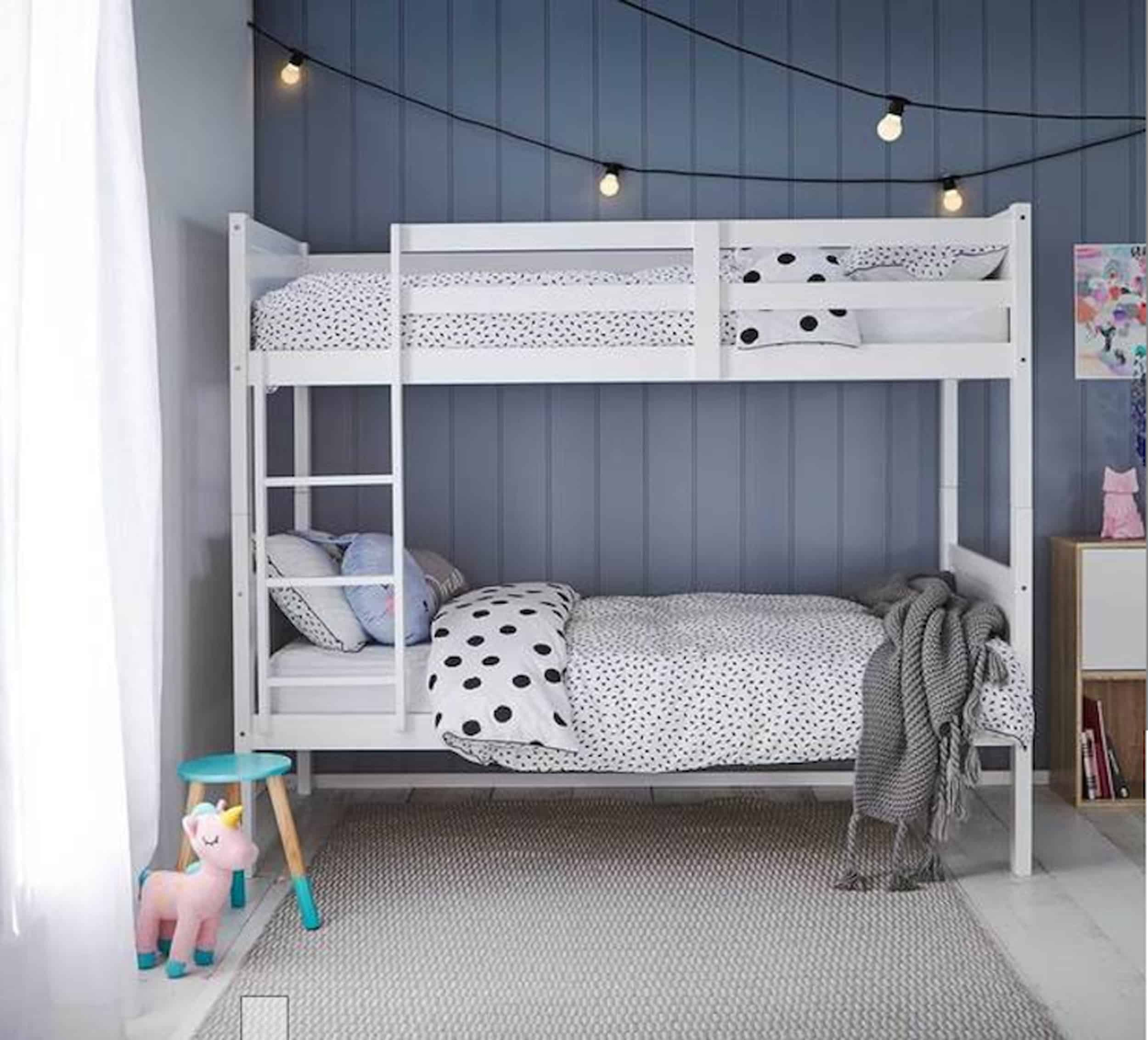 Emily Henderson Bedroom Living Room Colored Toned Walls Blue Green Grey Blue4