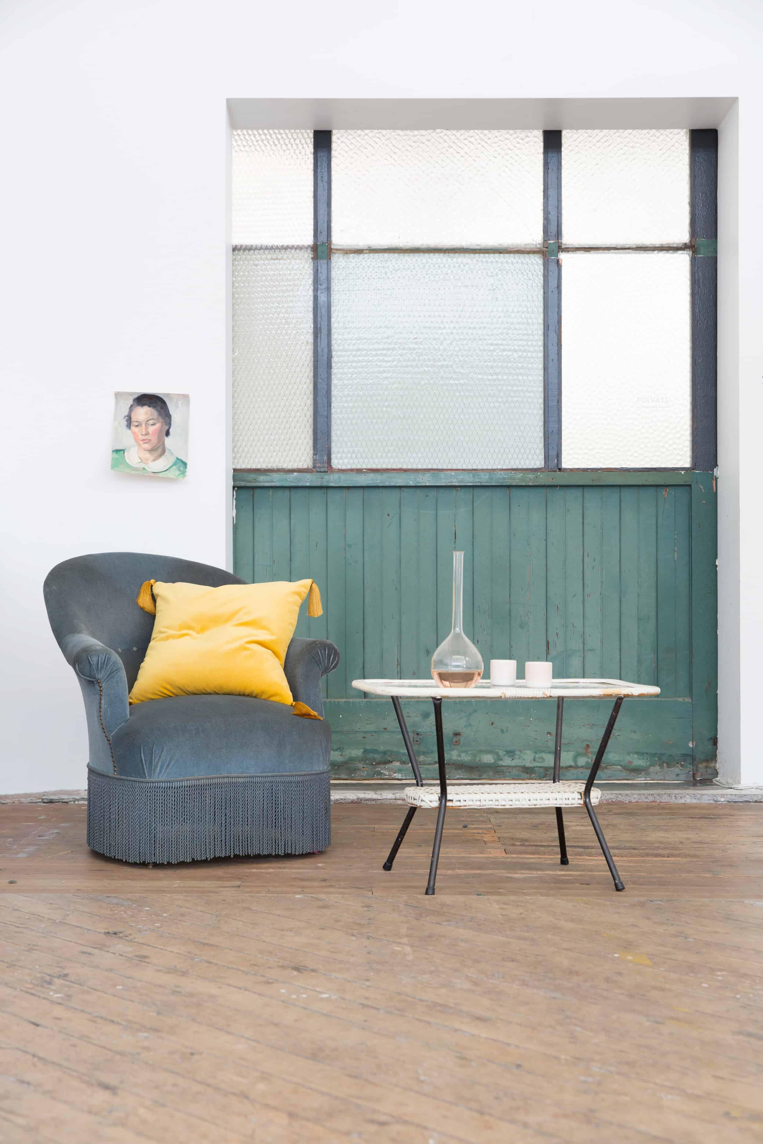 Emily Henderson Modern Victorian Trend Eclectic Boho Moody Velvet Tufted Fringe Detailed Dramatic Living Room Bedroom 14