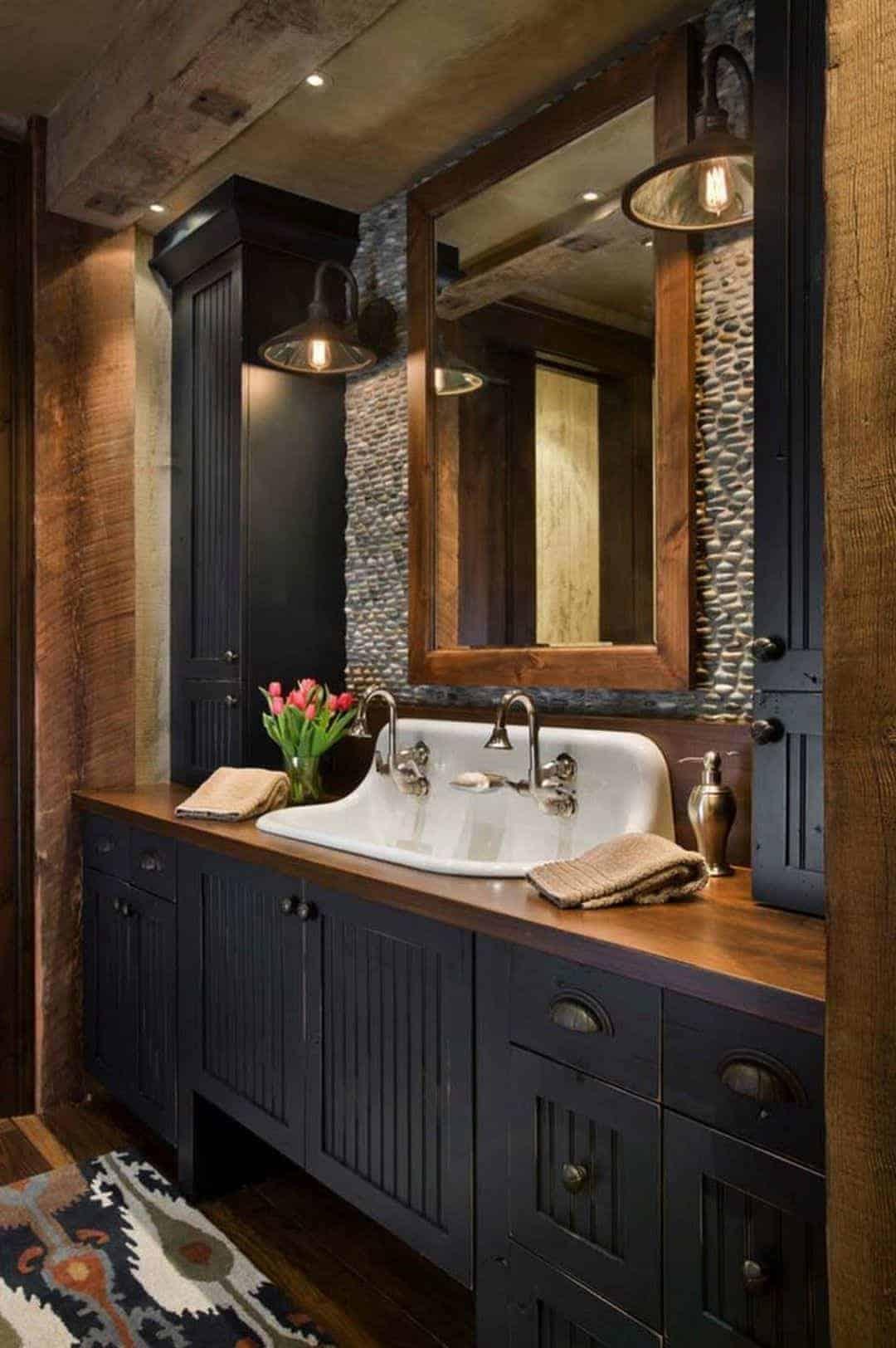 Emily Henderson Mountain Fixer Upper Rethink The Pebble Bathrooms Good Inspo Pics 15