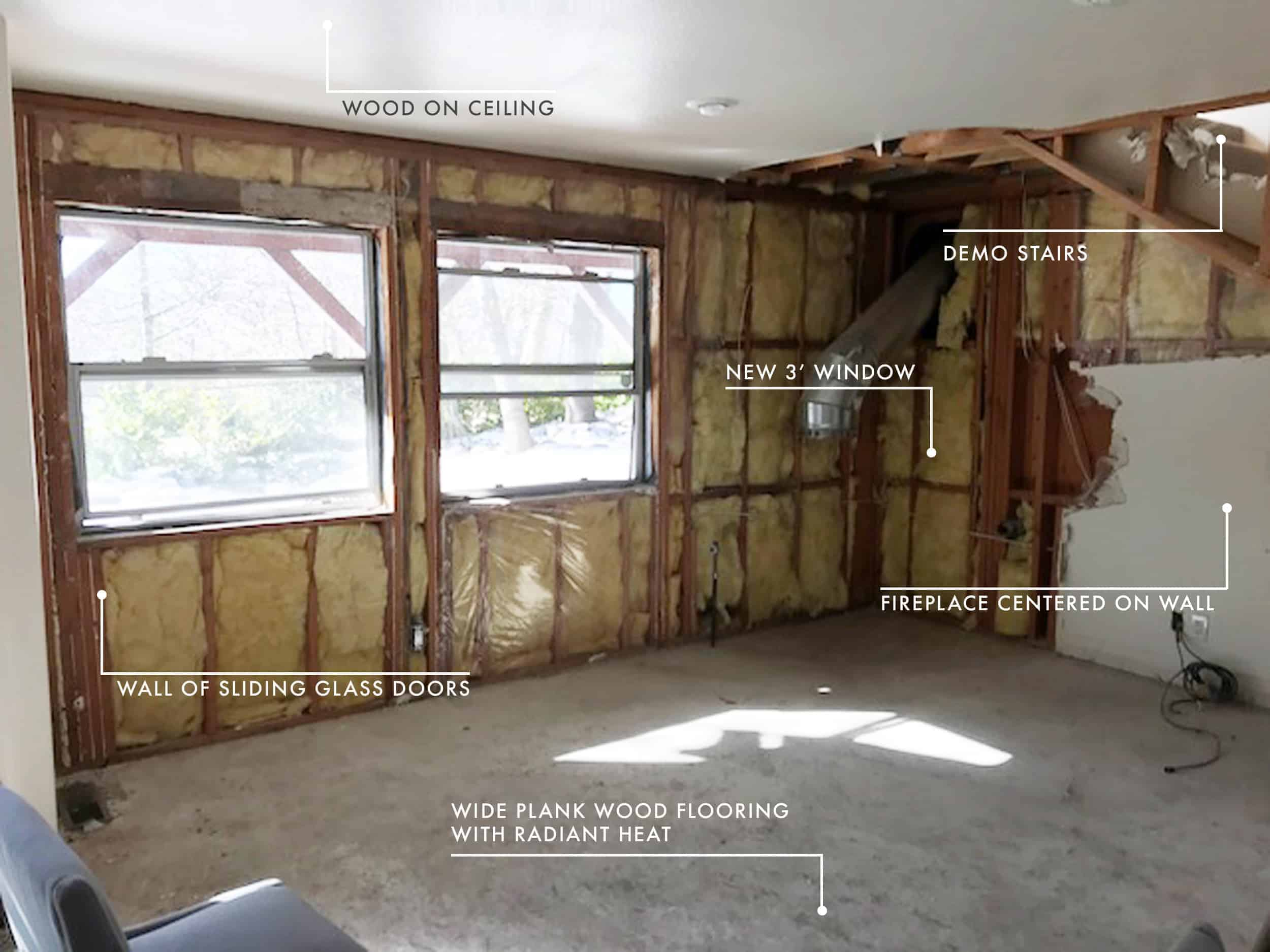 Emily Henderson Mountain Fixer Upper Cabin Demo Update 20