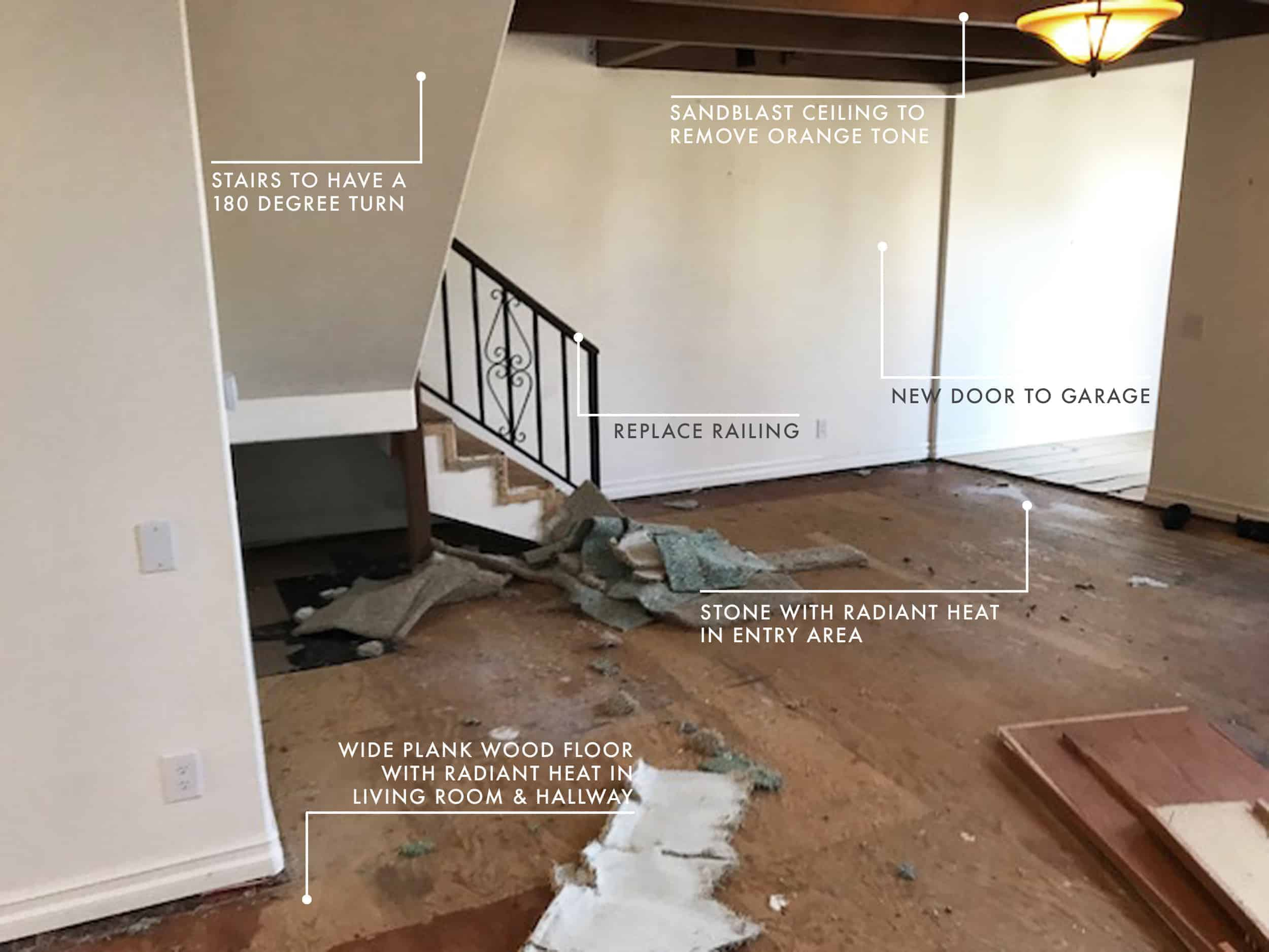 Emily Henderson Mountain Fixer Upper Cabin Demo Update 5