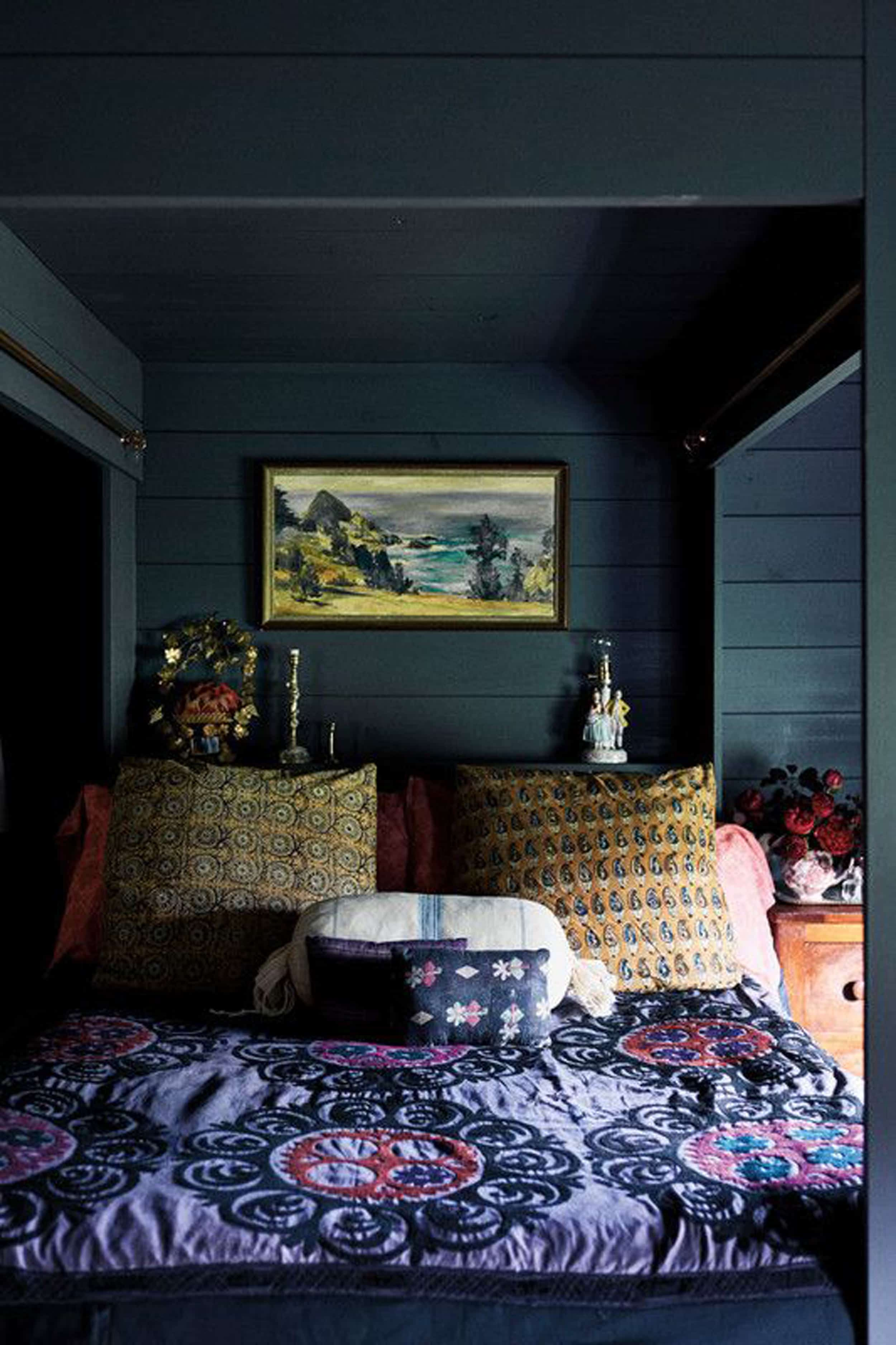 Emily Henderson Mountain Fixer Upper Color Inspiration Moody Cabin