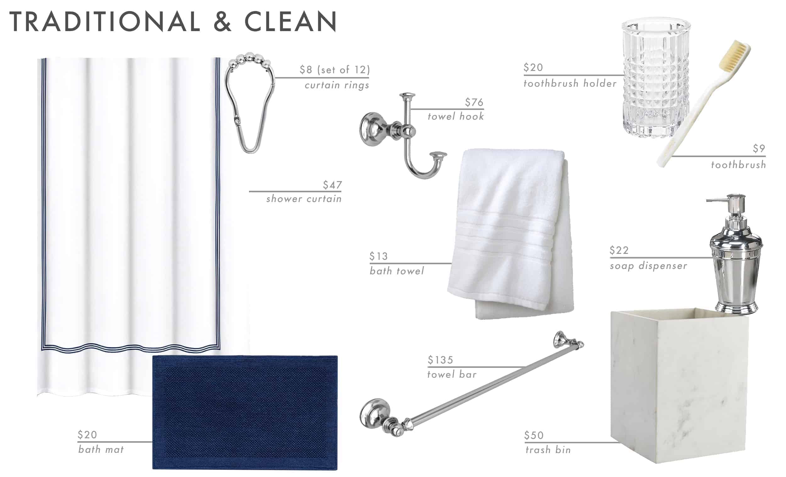 Emily Henderson Roundup Bathroom Accessories 22