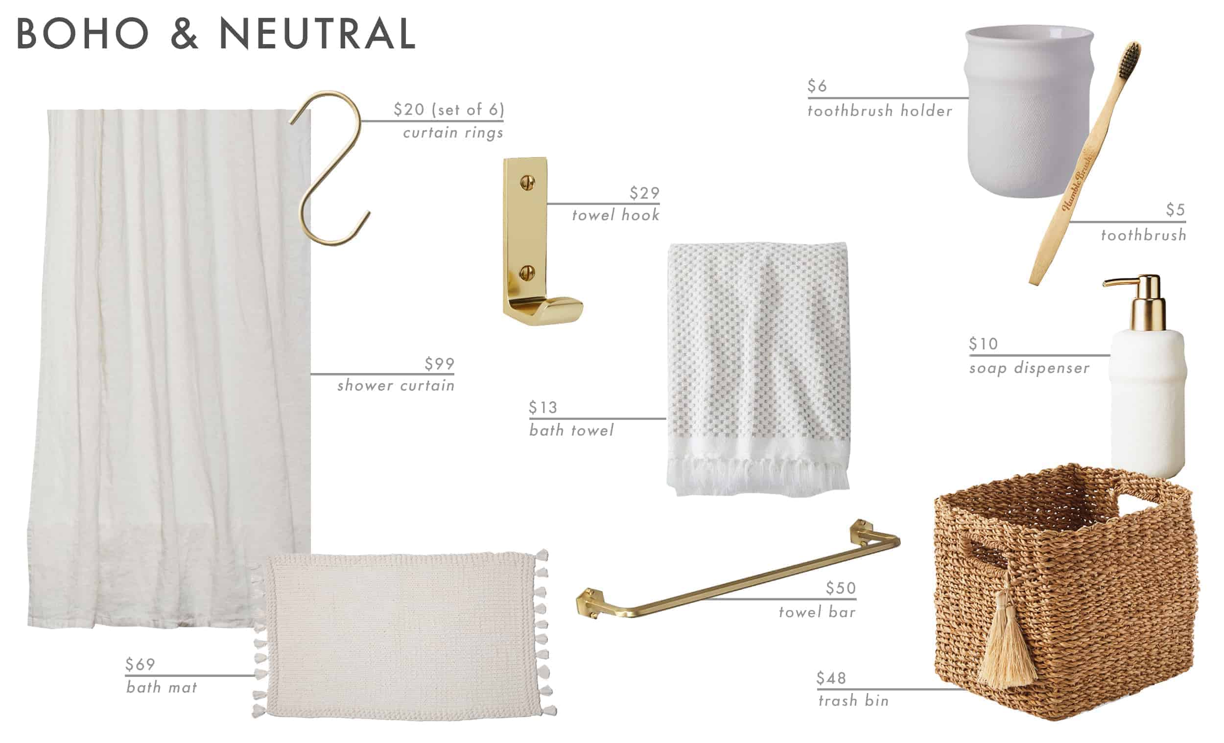 Emily Henderson Roundup Bathroom Accessories 31