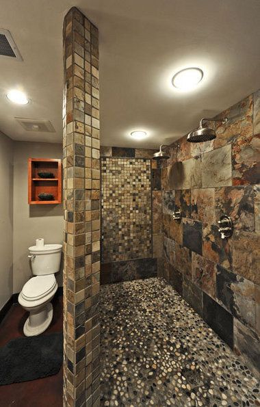 Mountain house bathroom