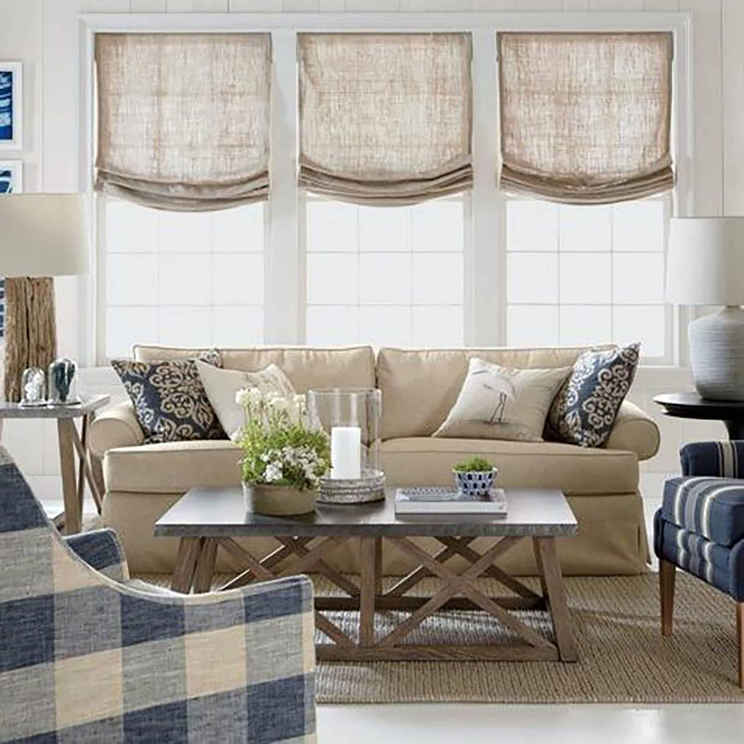 Emily Henderson Awkward Windows Wall Treatments Multiple Windows Good Examples 1