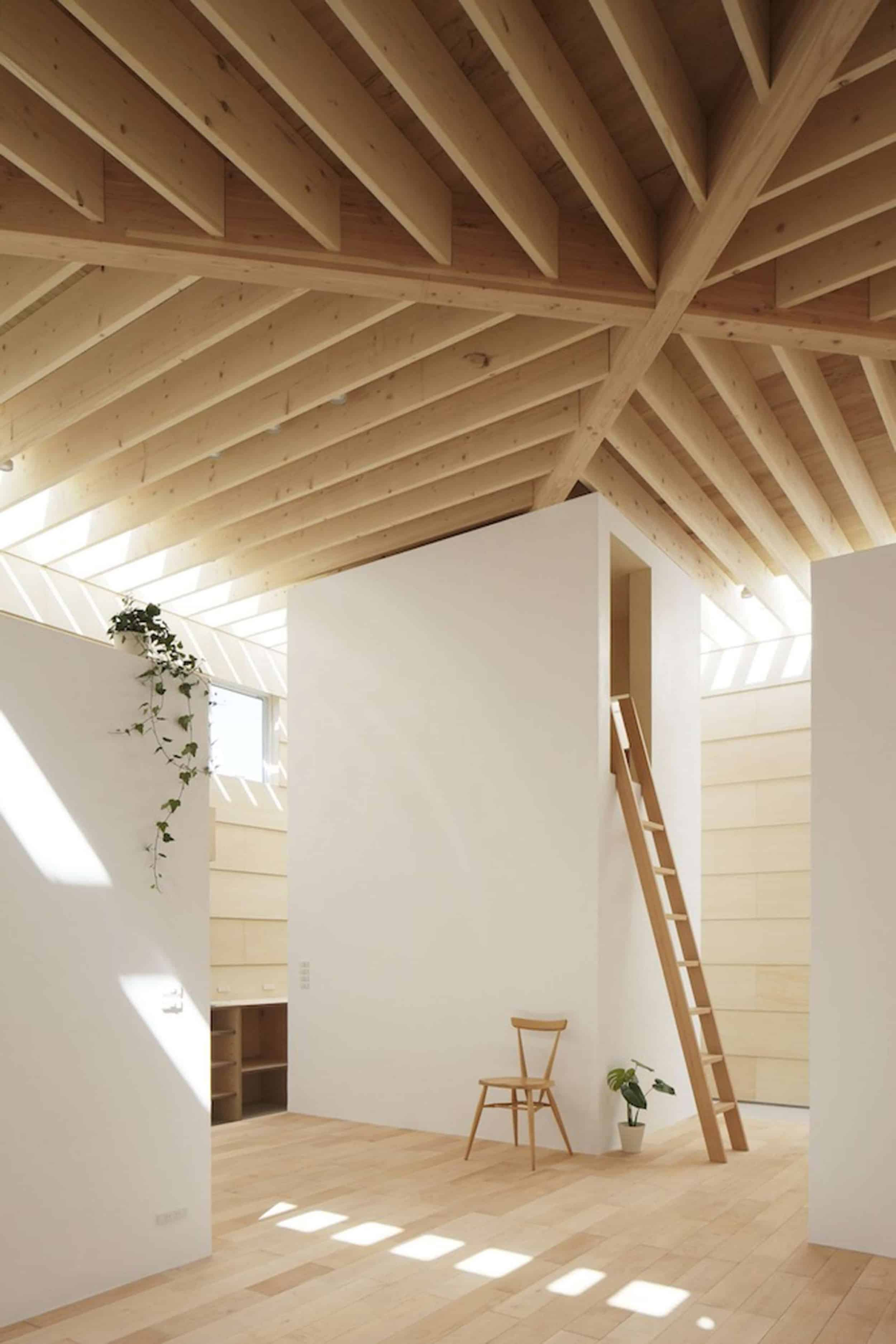 Emily Henderson How To Add Character To Basic Architecture Walls Celings Wood Unfinished Raw 28