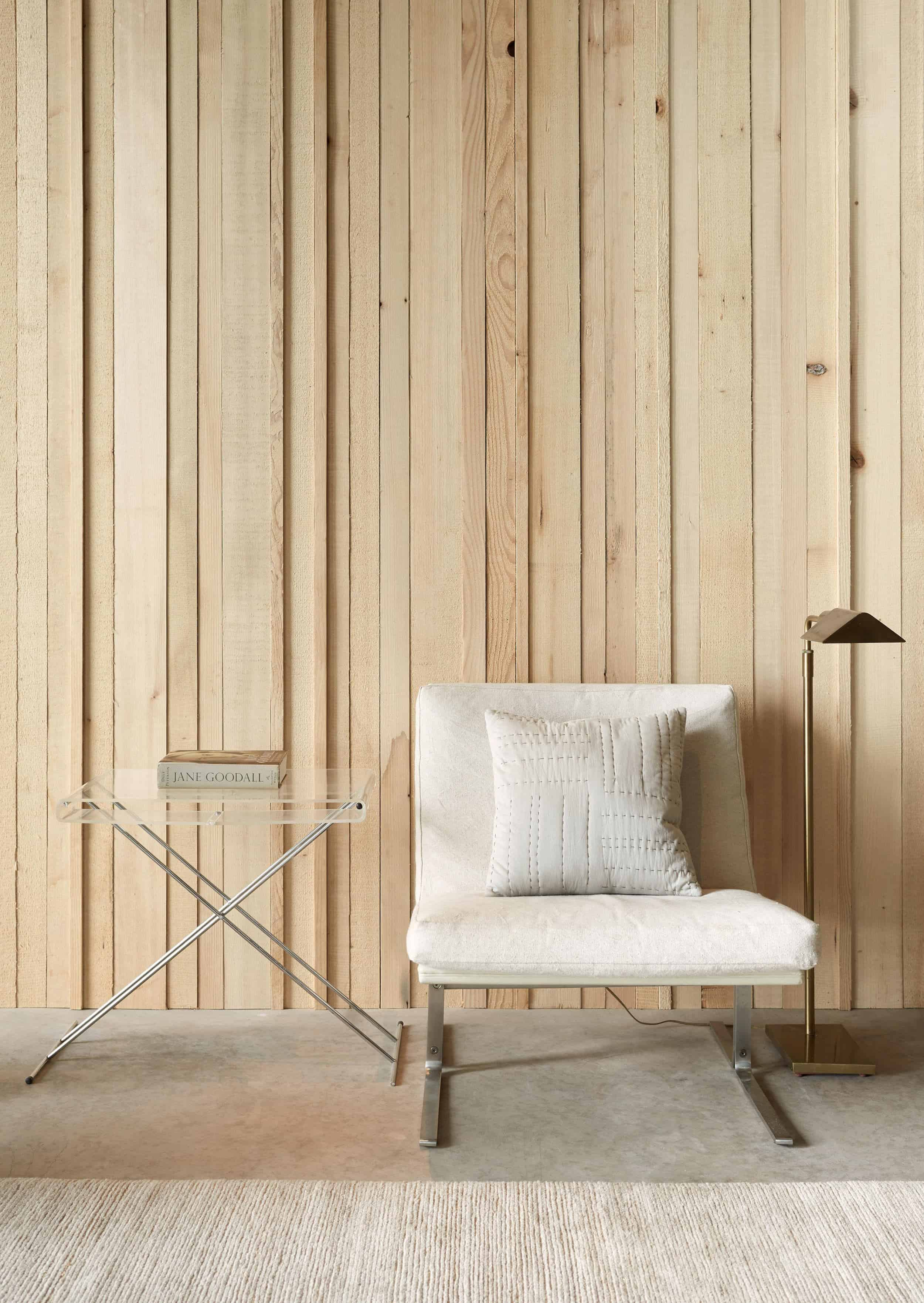 Emily Henderson How To Add Character To Basic Architecture Walls Celings Wood Unfinished Raw 34