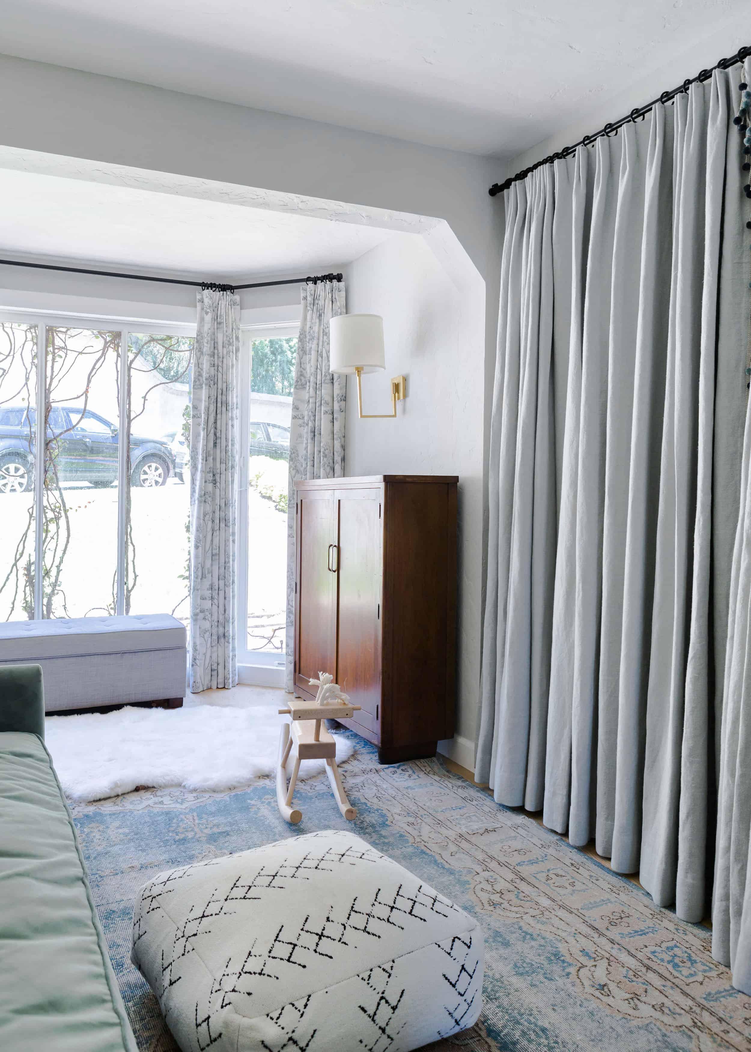 Emily Henderson Modern English Cottage Tudor Family Room 03