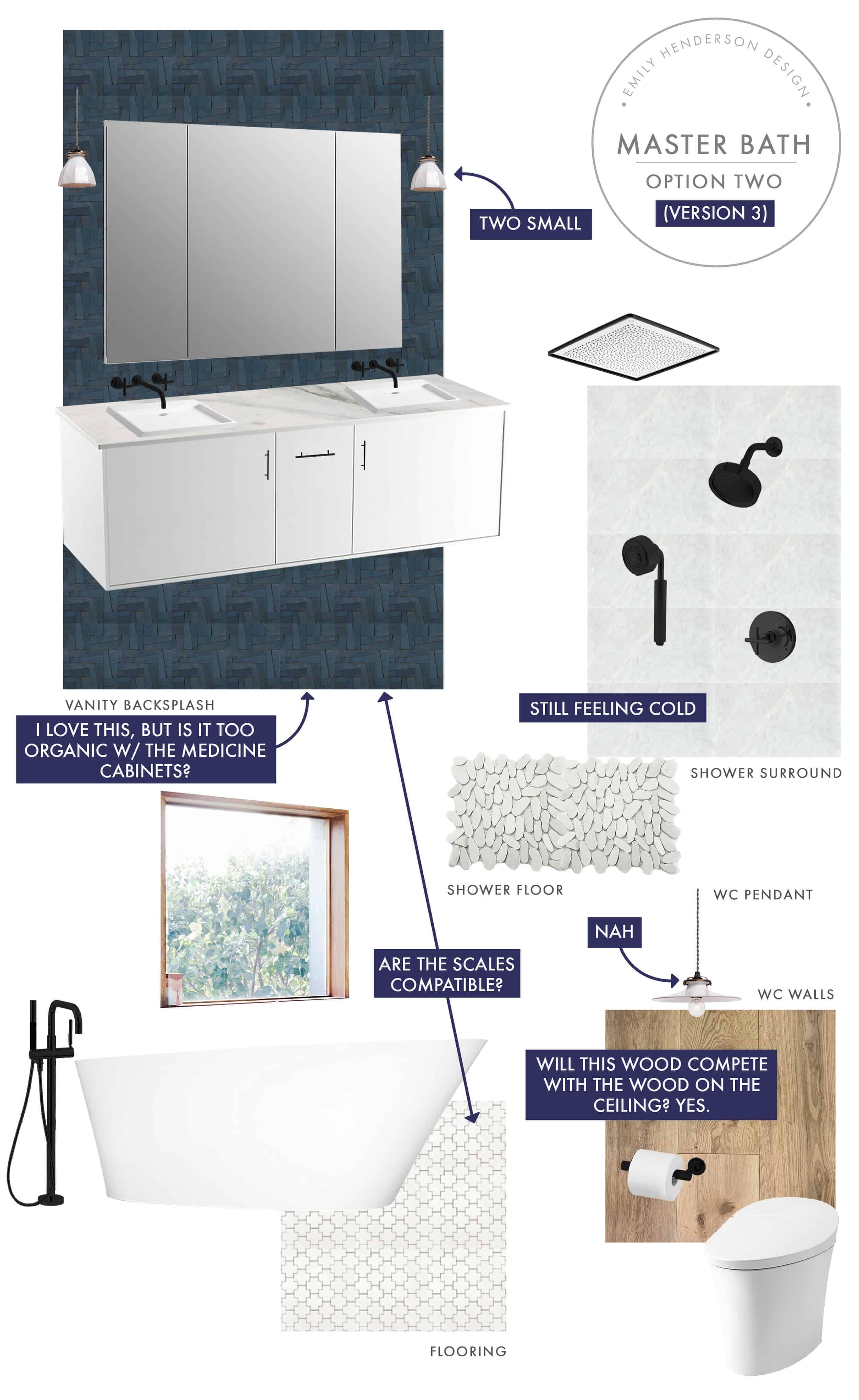 Emily Henderson Mountain Fixer Upper I Design You Decide Master Bath Final Option Two V03