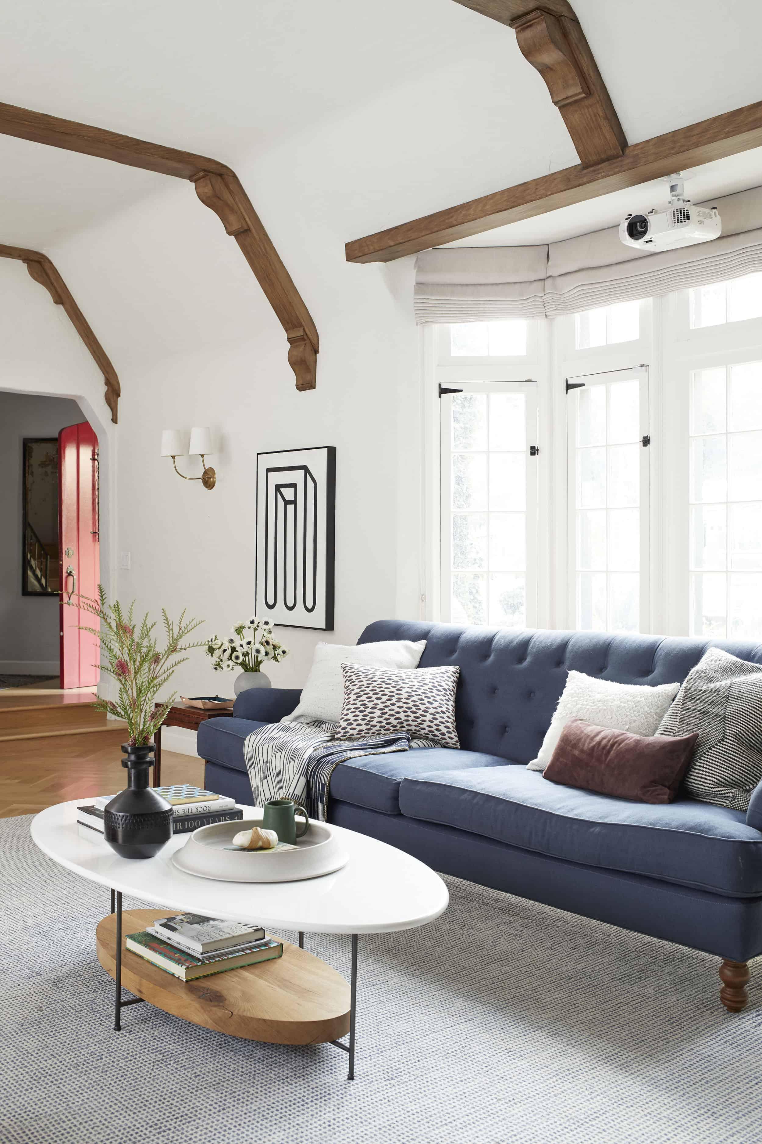 Hiding A Home Projector Living Room