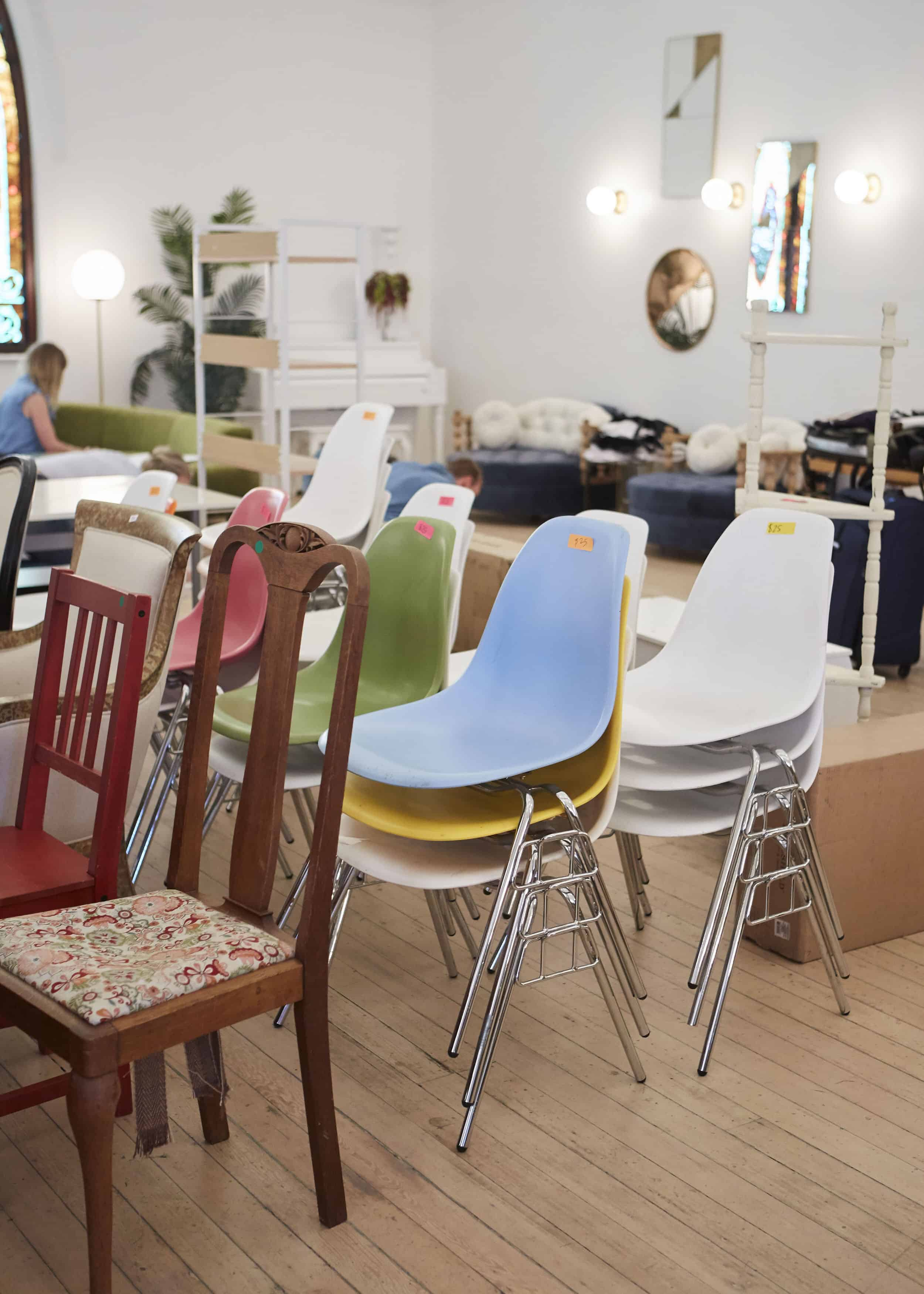 Makers Mess Vintage Modern Chairs