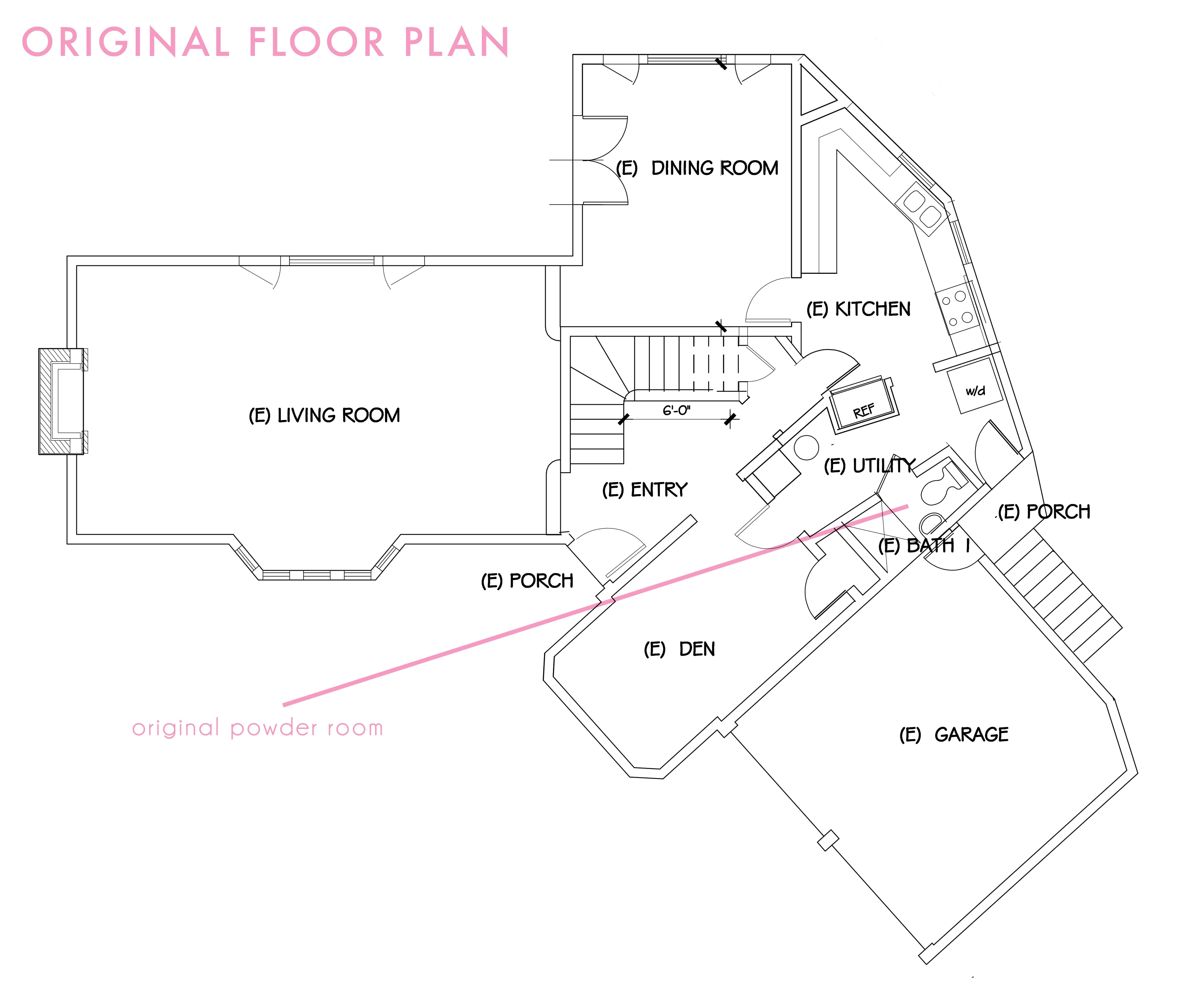 Original Floor Plan 11