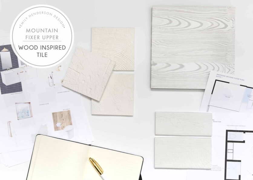 Rethink Wood Tile Sample Overhead Layflat Wood Inspired Tiles 2 1
