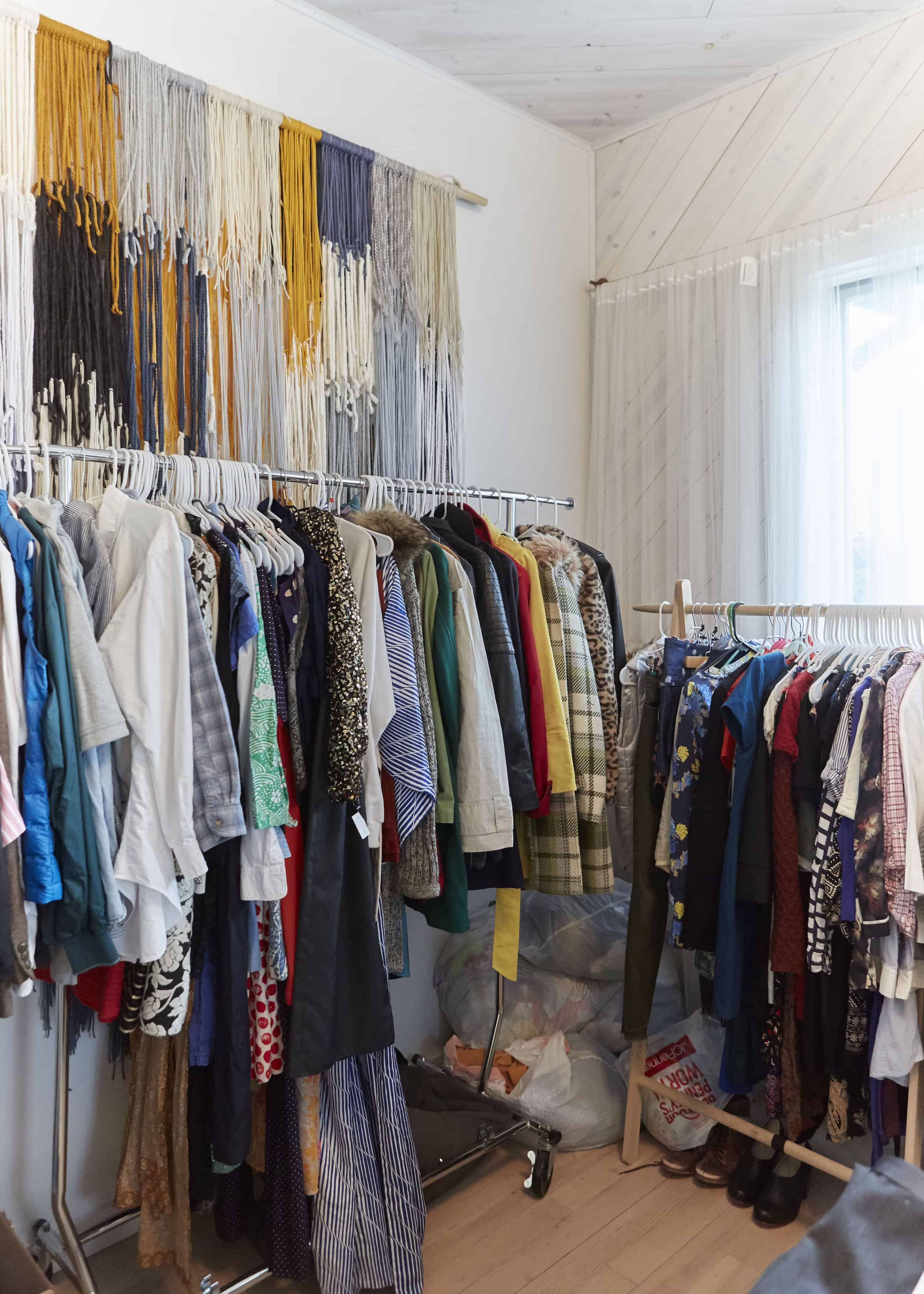 Sale Yarn Wall Art The Ruby Street Clothing On Racks