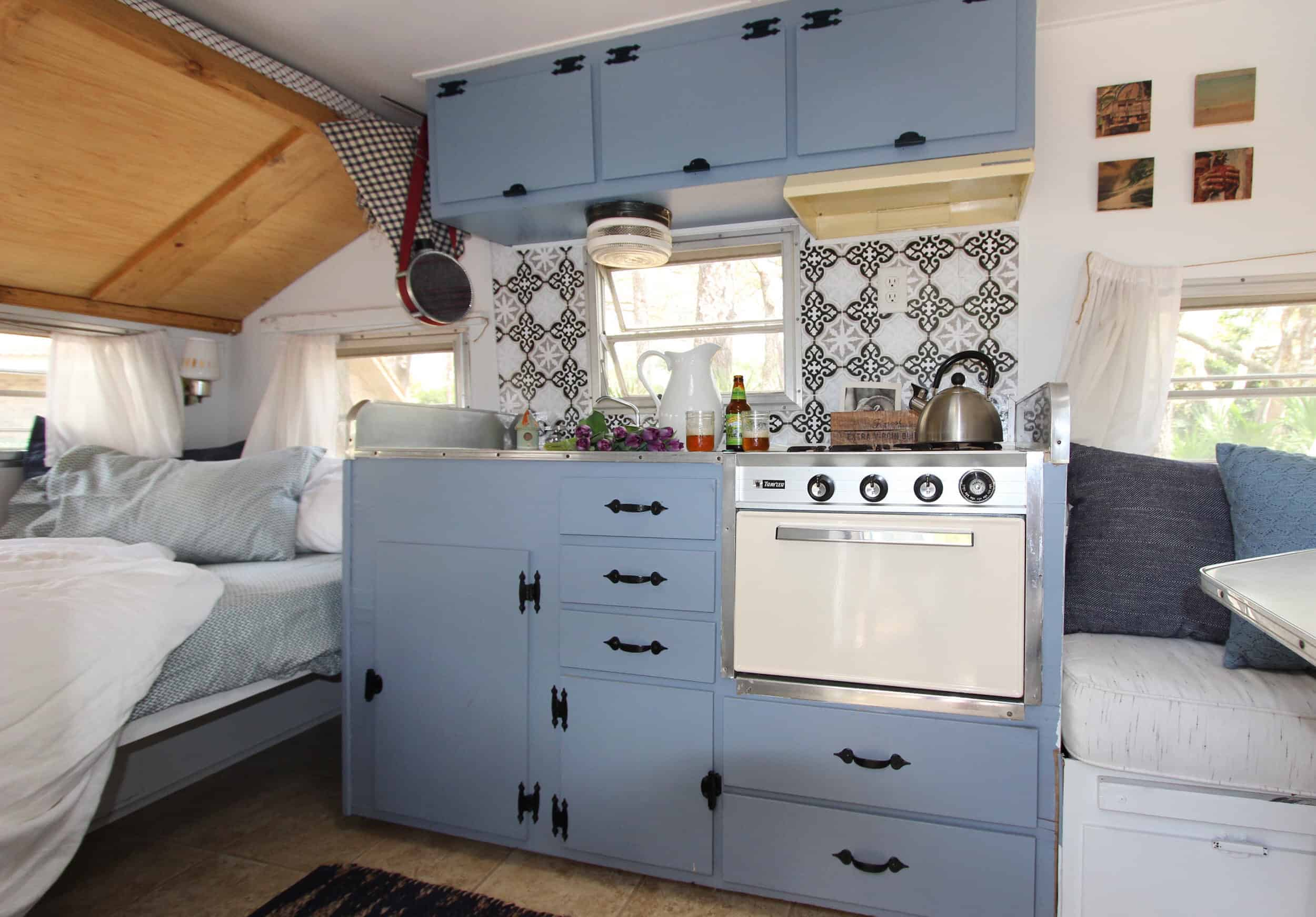 Shelly Tumlin Beach Camper