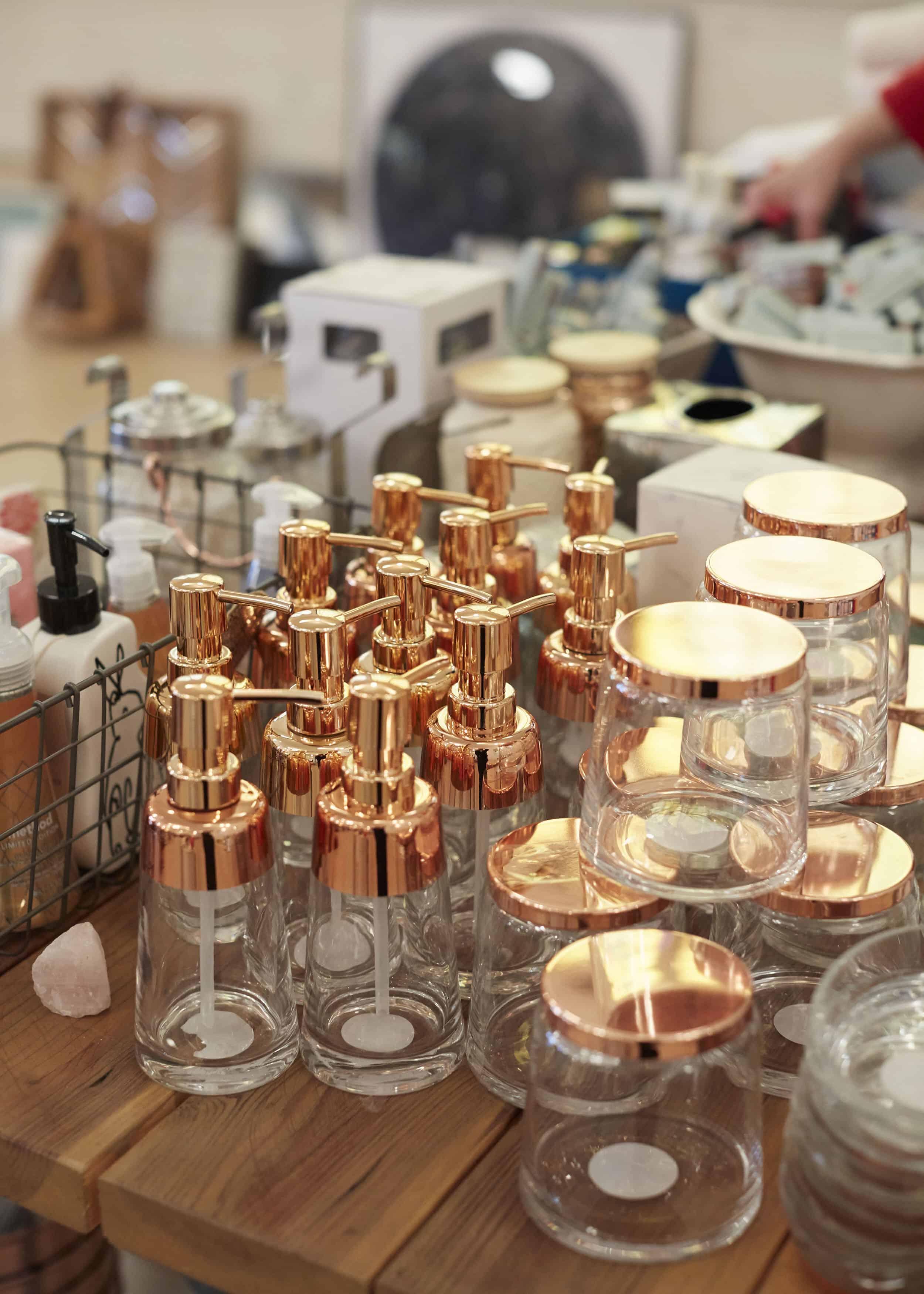 Target Copper Blush Soap Dispenser Rummage Sale