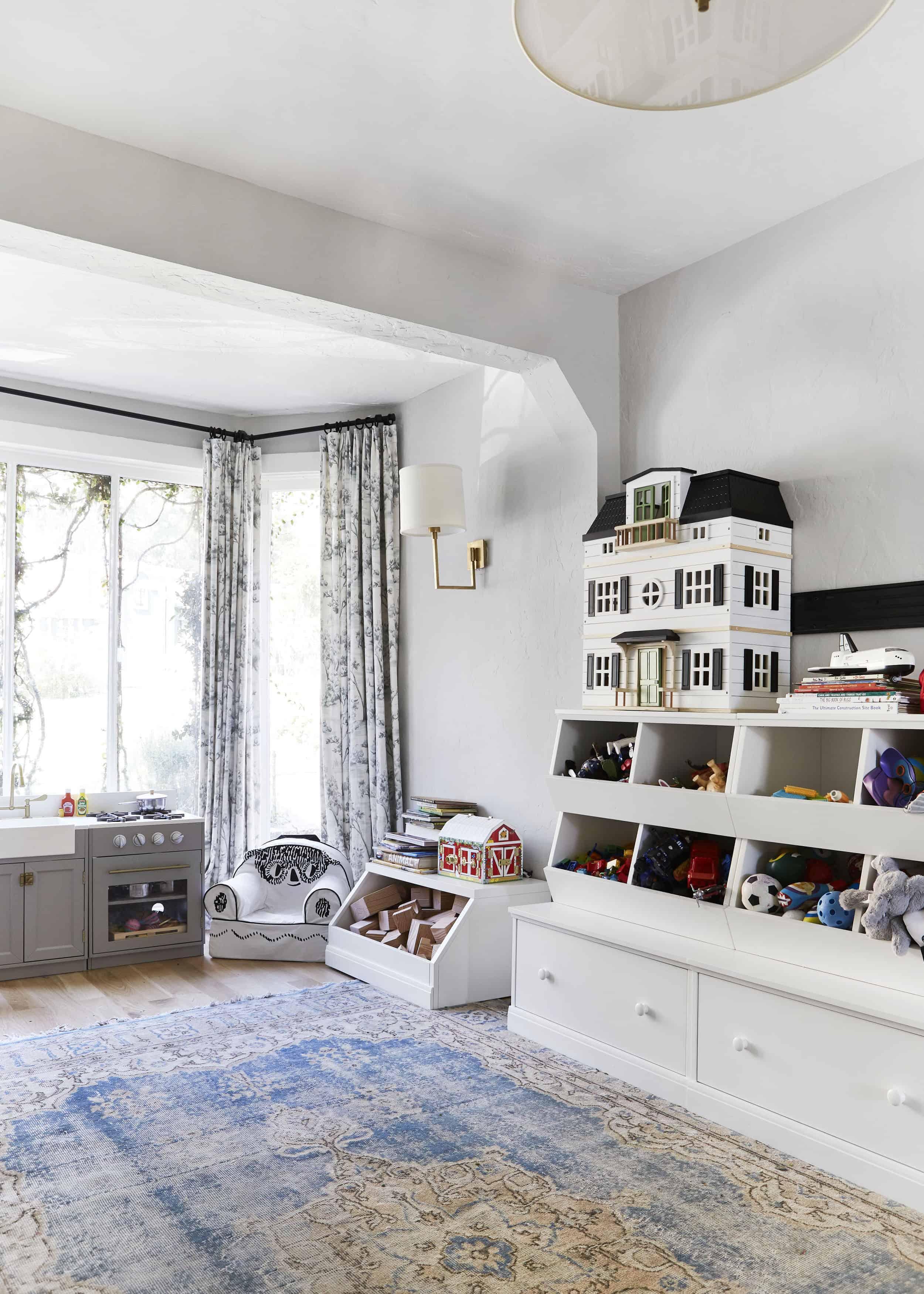 Traditional Tudor Playroom Makeover
