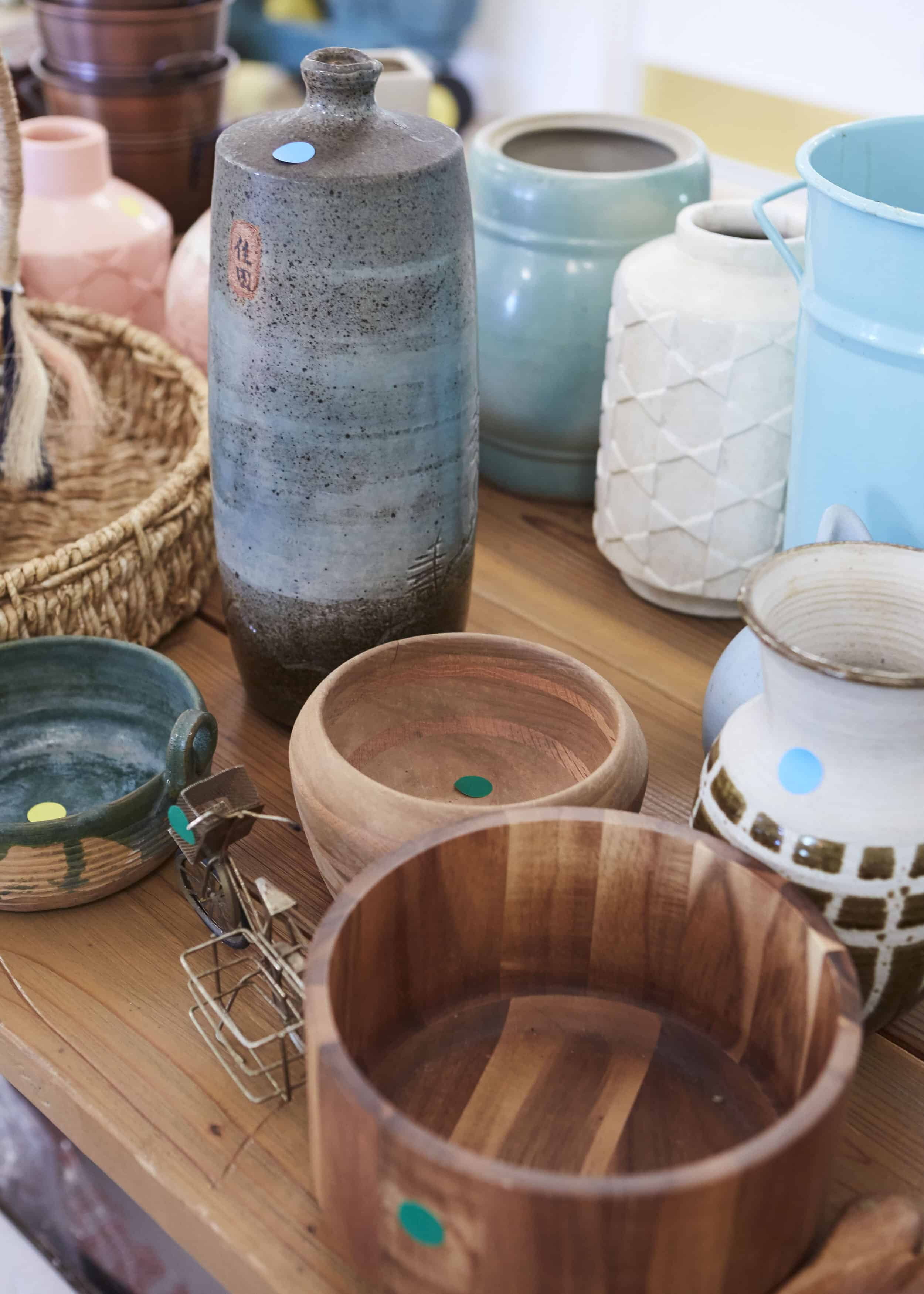 Vintage Pottery Rummage Sale