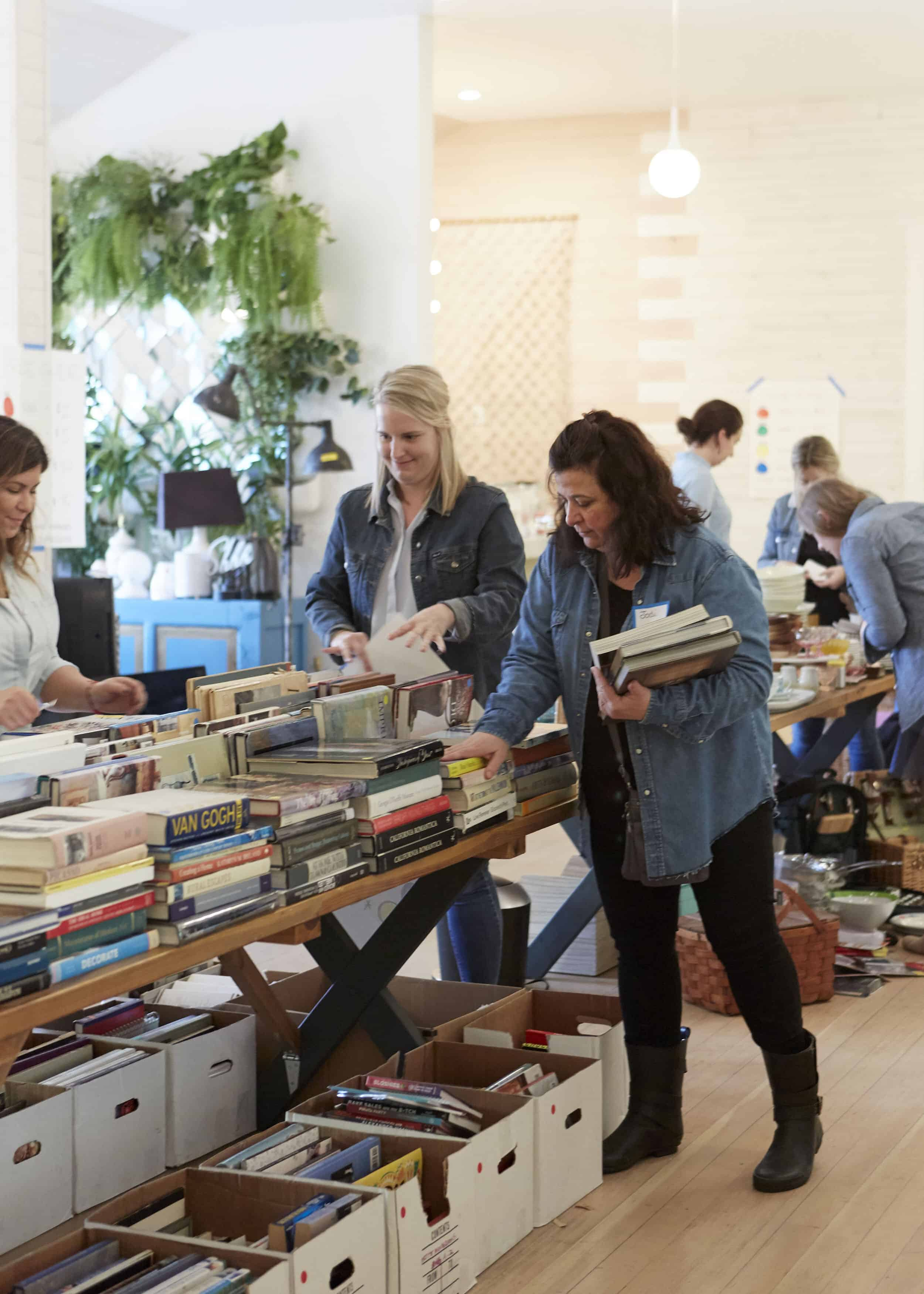 Volunteer At The Rummage For Good Sale